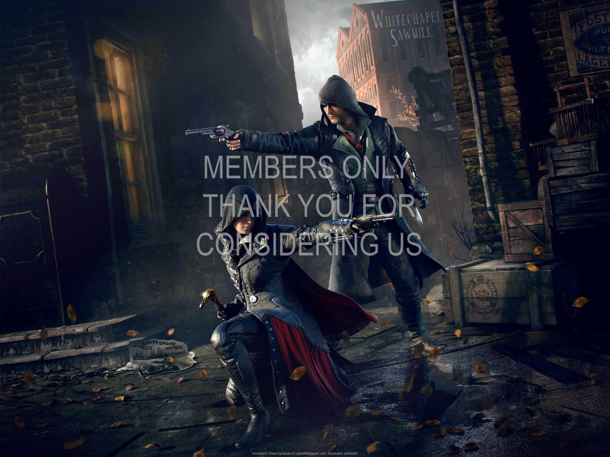 Assassin's Creed: Syndicate 1080p Horizontal Handy Hintergrundbild 14