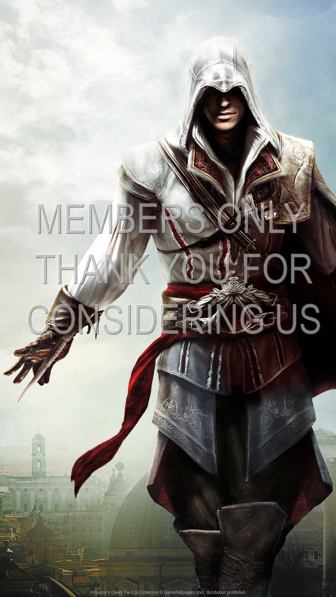 Assassin S Creed The Ezio Collection Wallpaper 01 1080p Vertical