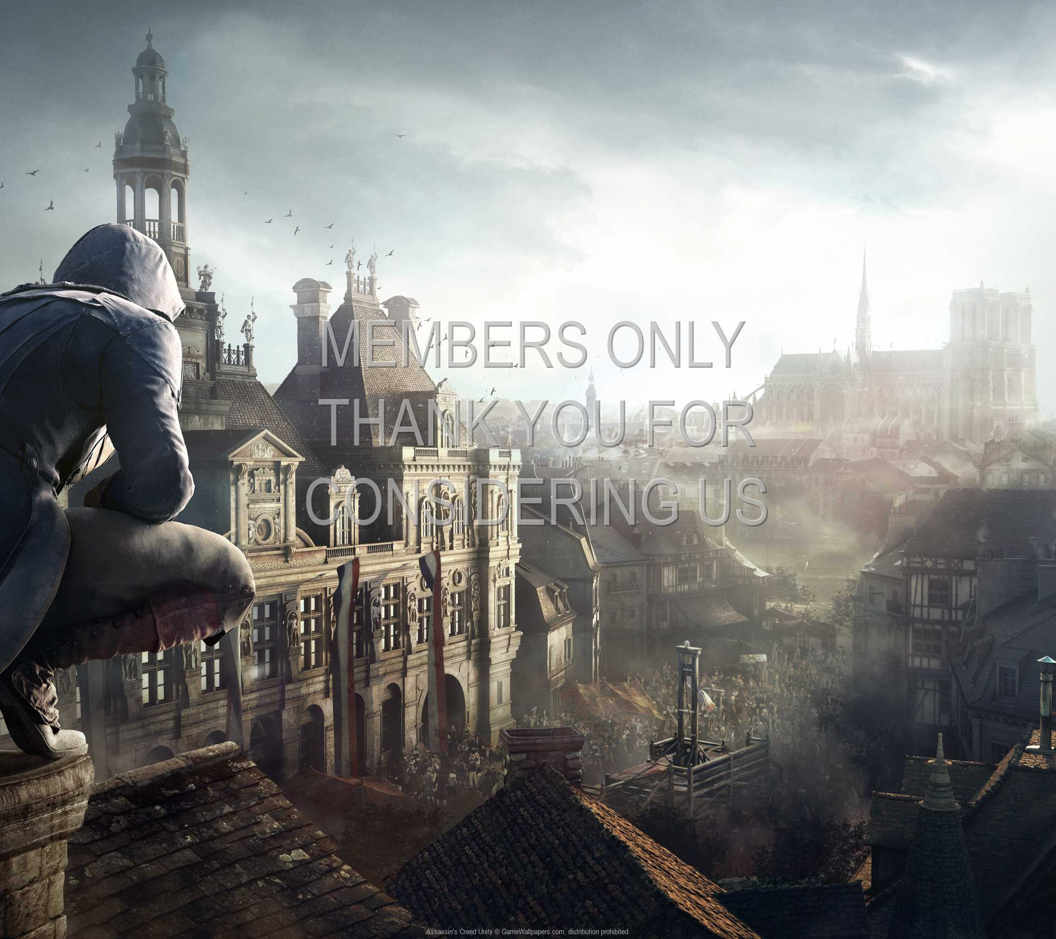 Assassin S Creed Unity Wallpaper 13 1080p Horizontal