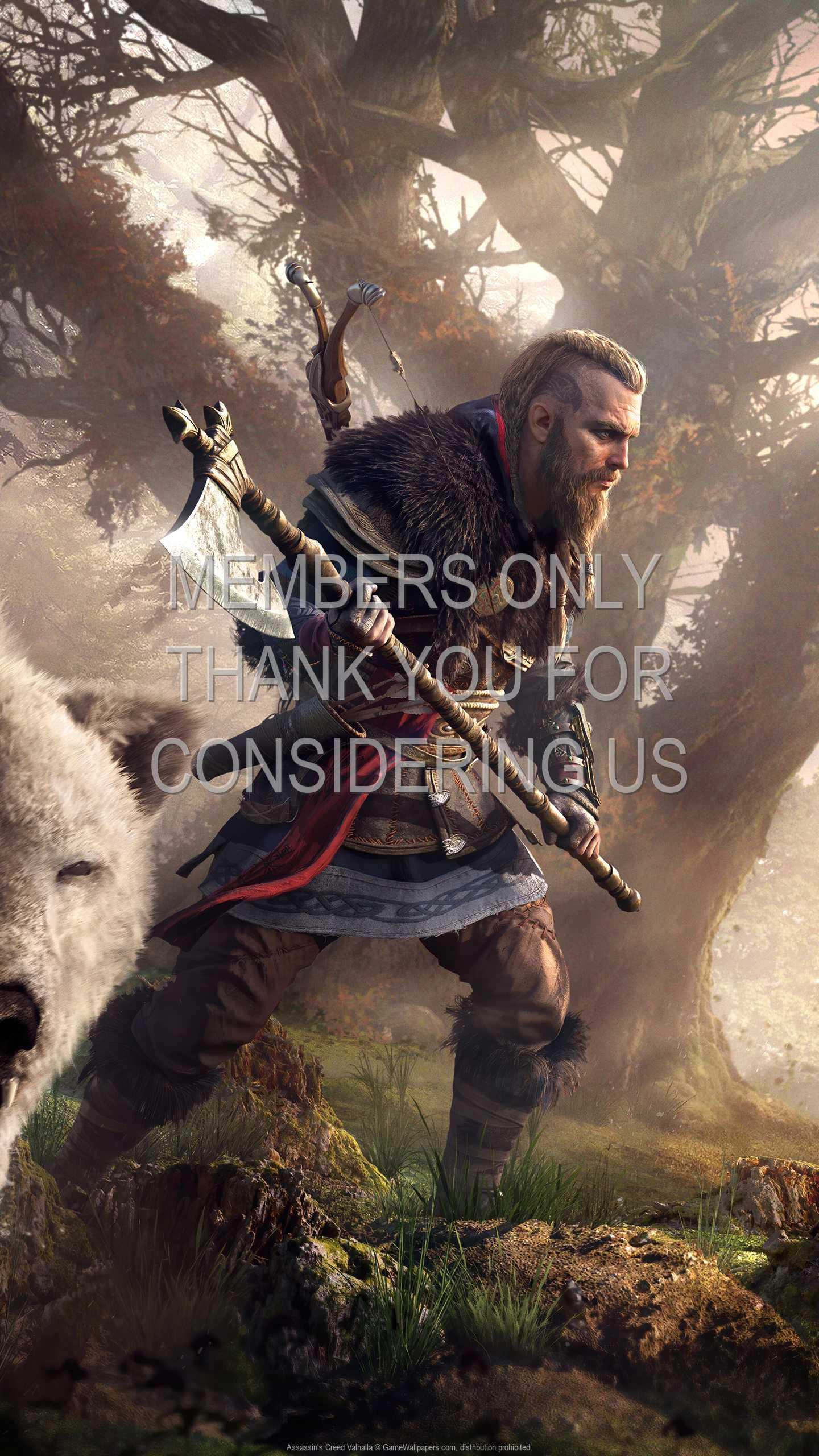 Assassin's Creed: Valhalla 1440p Vertical Mobile fond d'écran 05