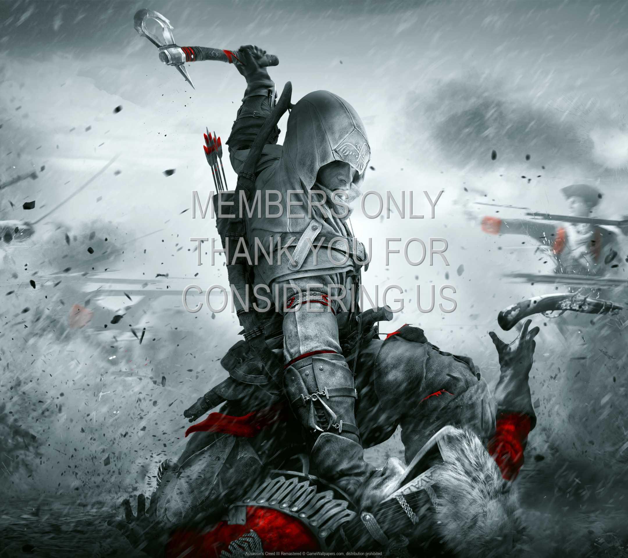 Assassin's Creed III: Remastered 1080p Horizontal Handy Hintergrundbild 01