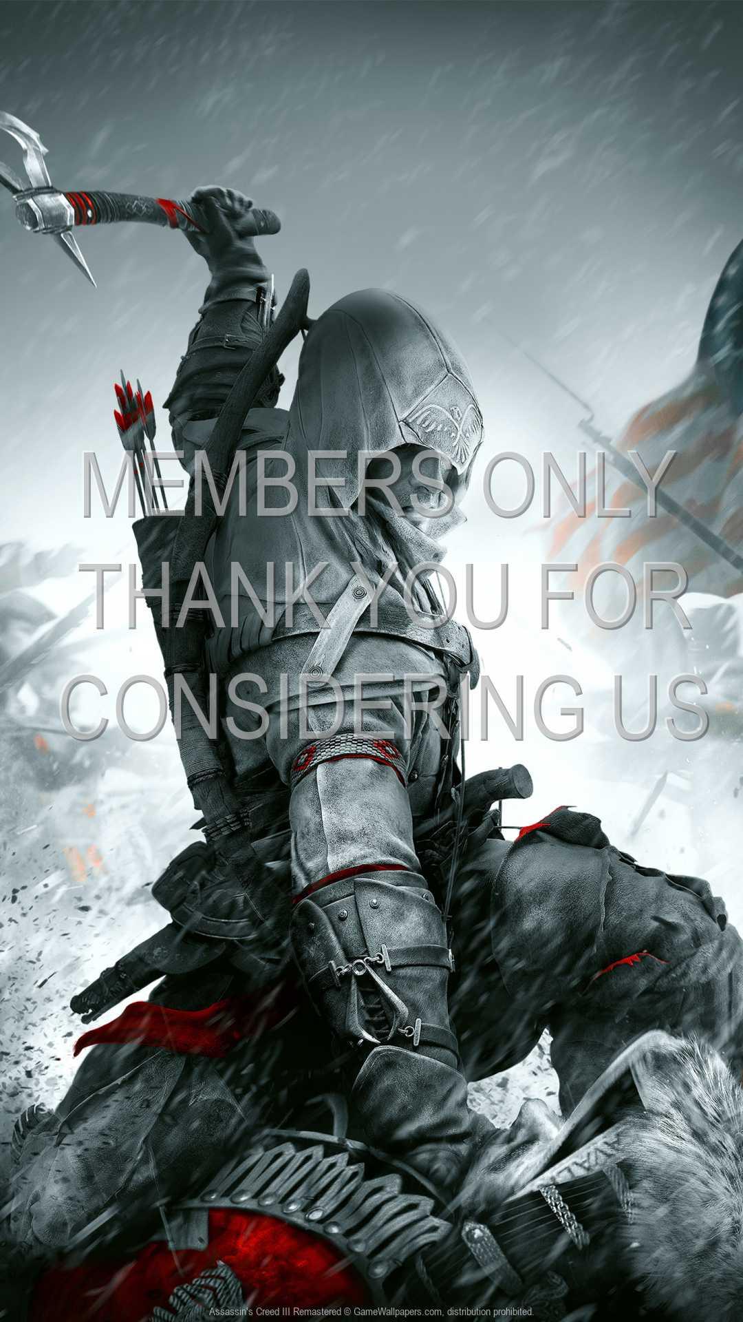 Assassin's Creed III: Remastered 1080p Vertical Handy Hintergrundbild 01