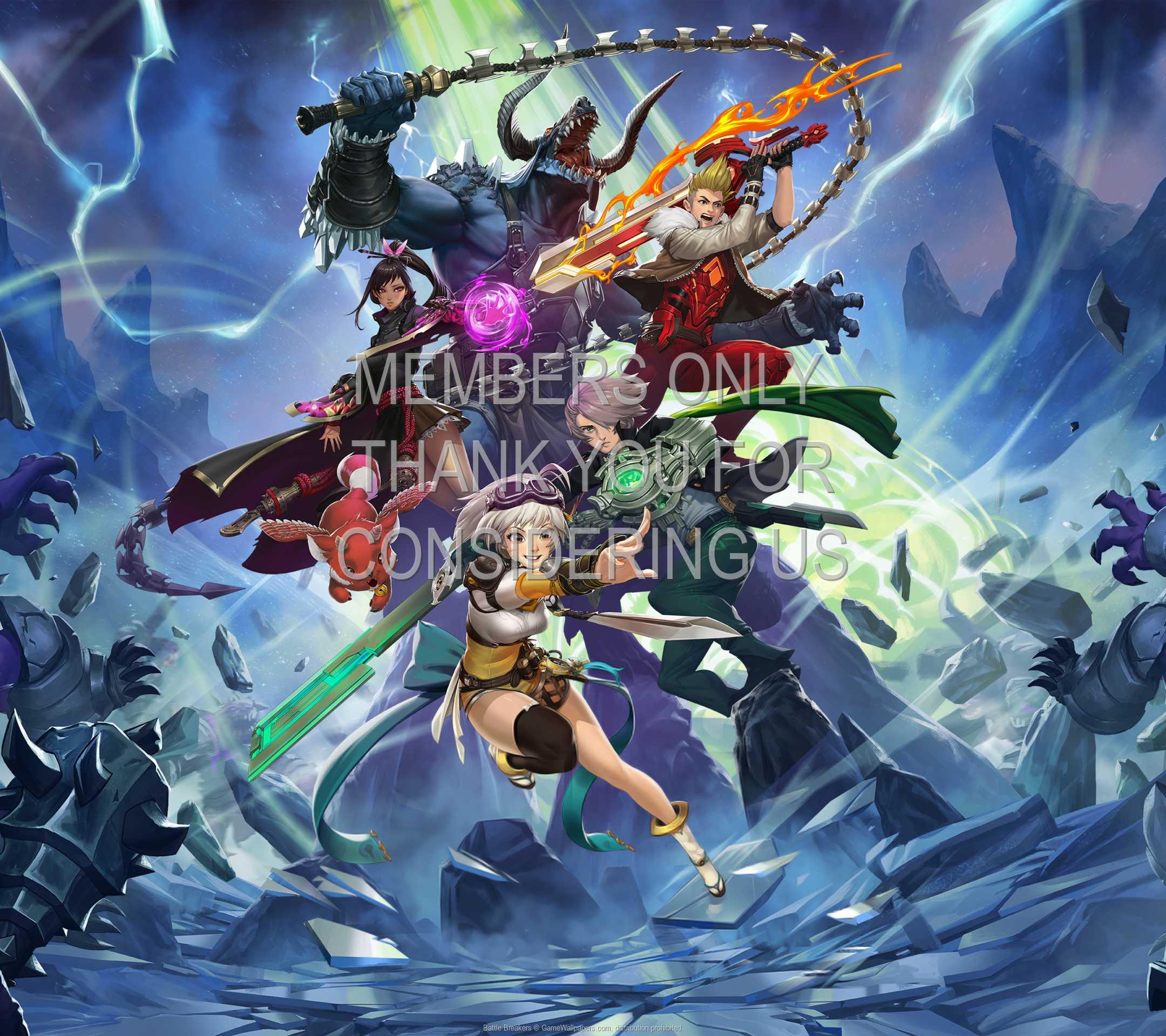 Battle Breakers 1080p Horizontal Mobile wallpaper or background 01