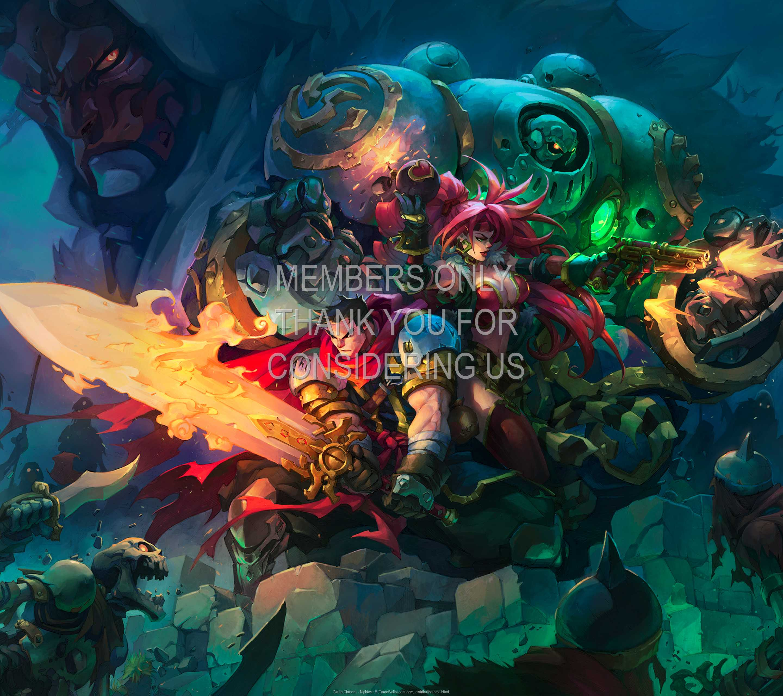 Battle Chasers - Nightwar 1440p Horizontal Mobiele achtergrond 02