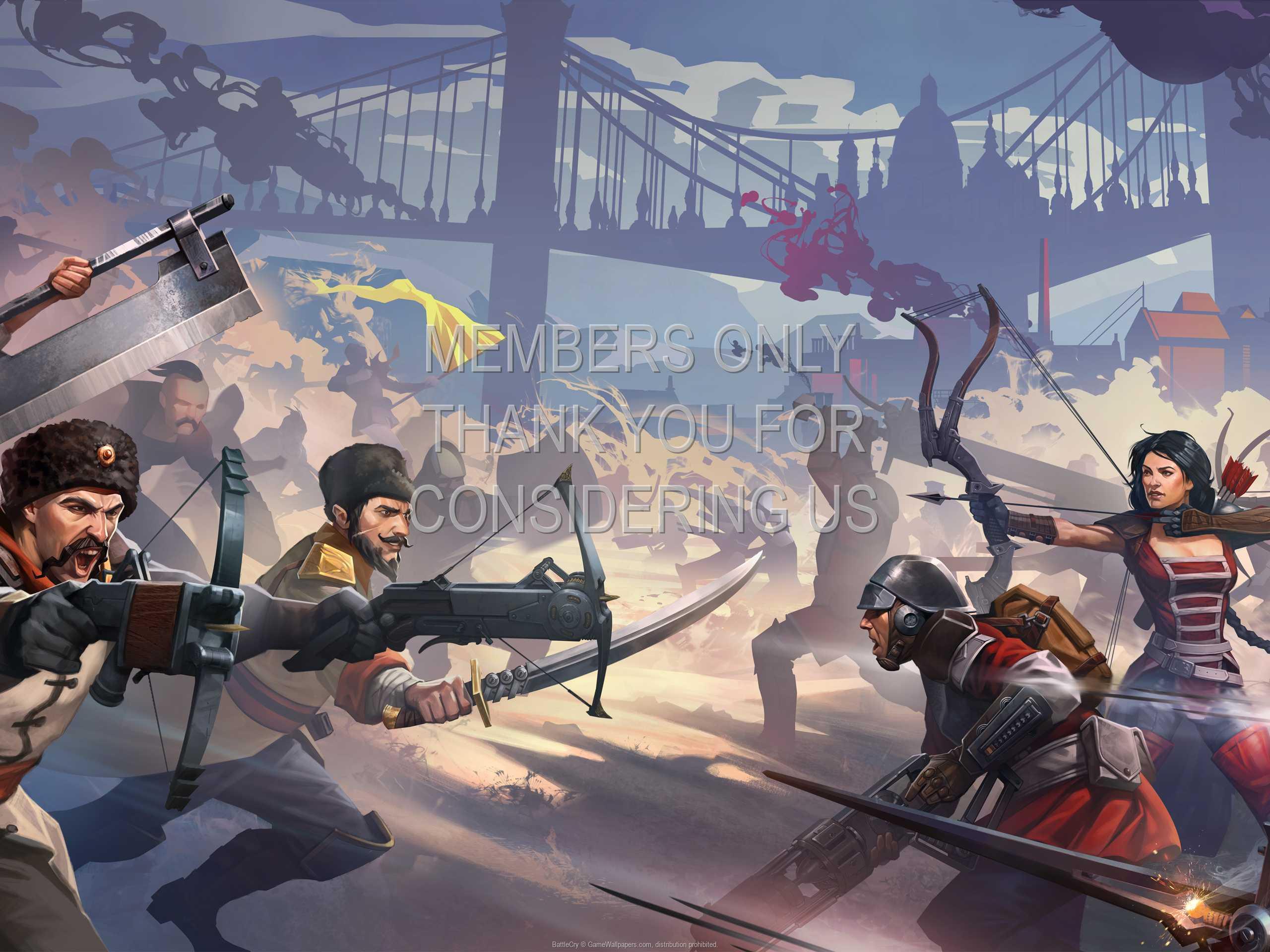 BattleCry 1080p Horizontal Móvil fondo de escritorio 01