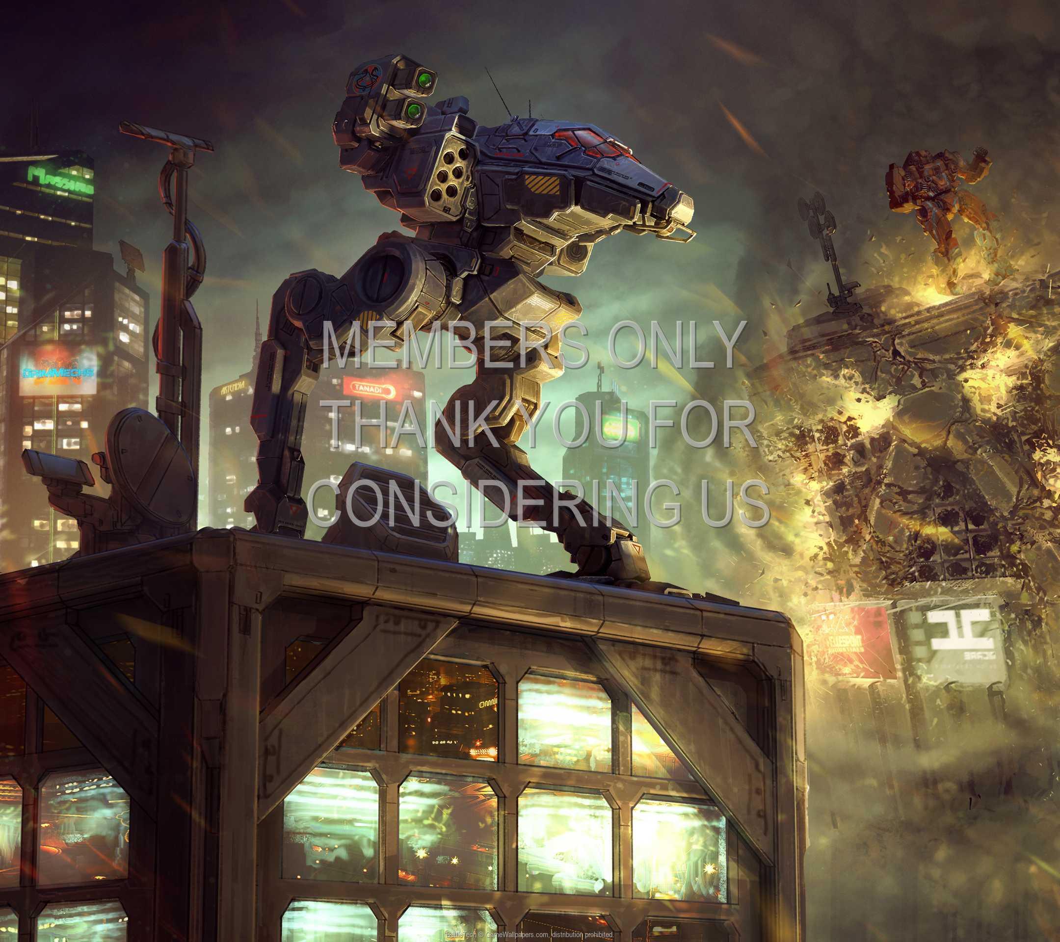 BattleTech 1080p Horizontal Handy Hintergrundbild 02