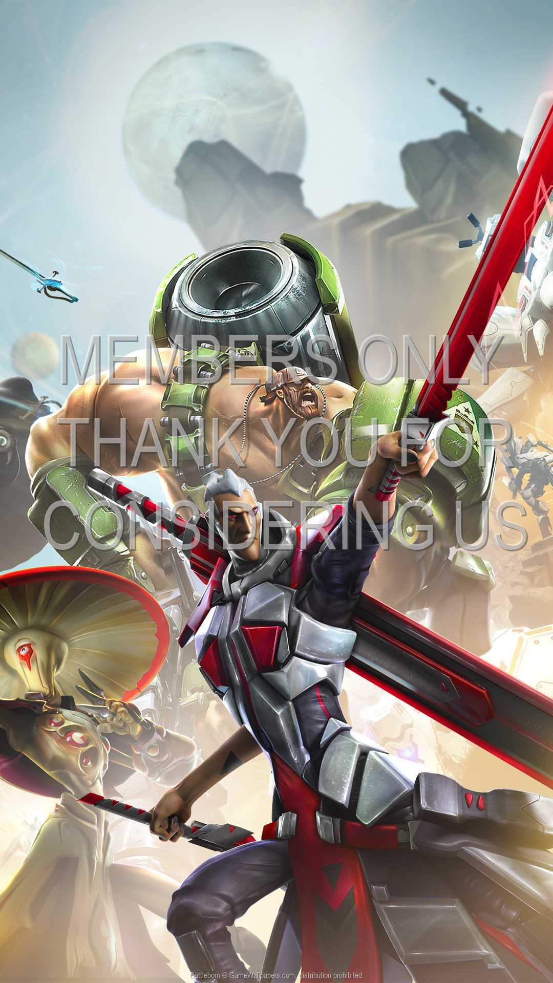 Battleborn 1080p Vertical Mobiele achtergrond 02
