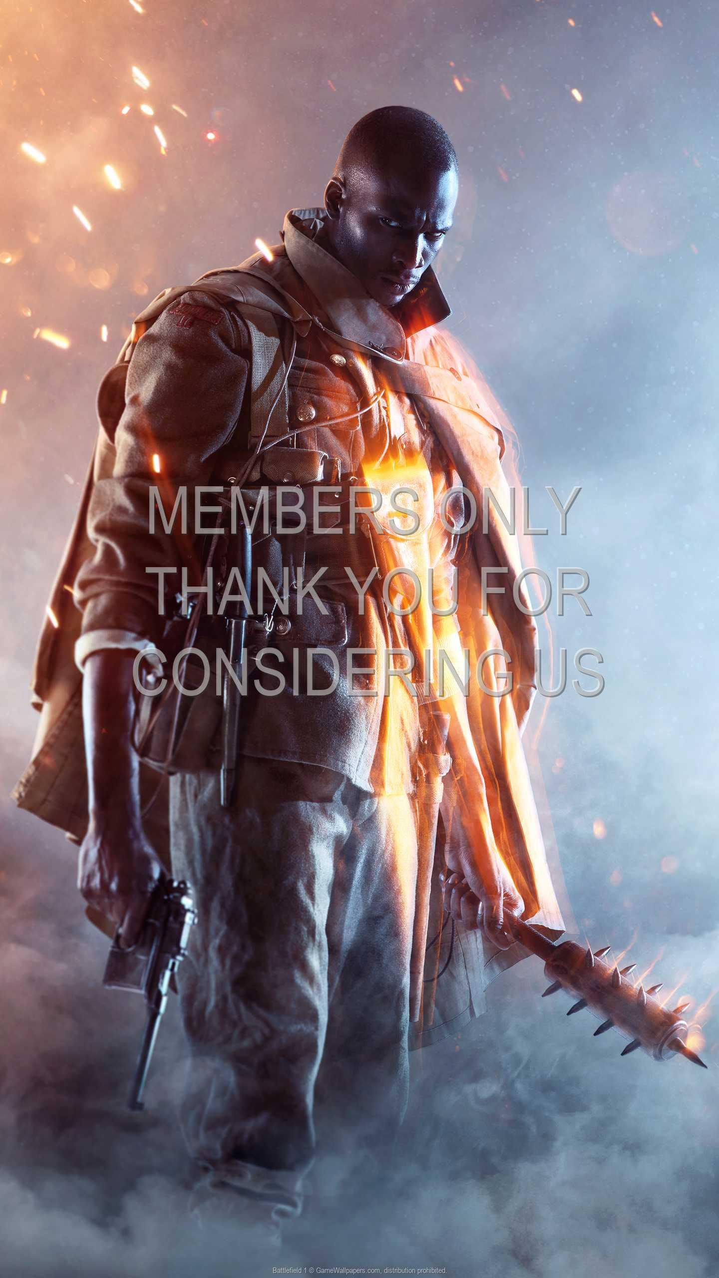 Battlefield 1 1440p Vertical Handy Hintergrundbild 03