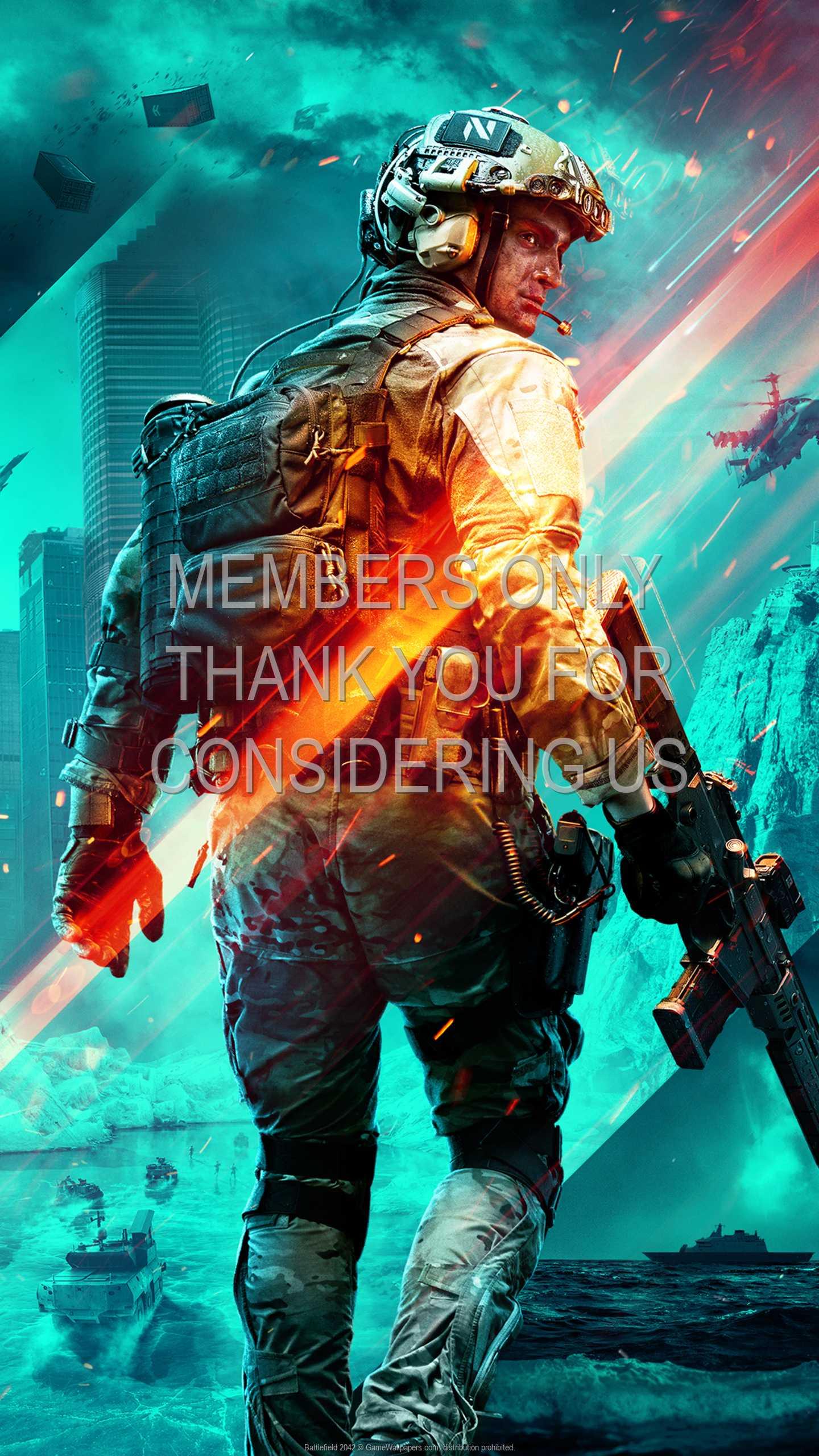 Battlefield 2042 1440p Vertical Mobile wallpaper or background 02