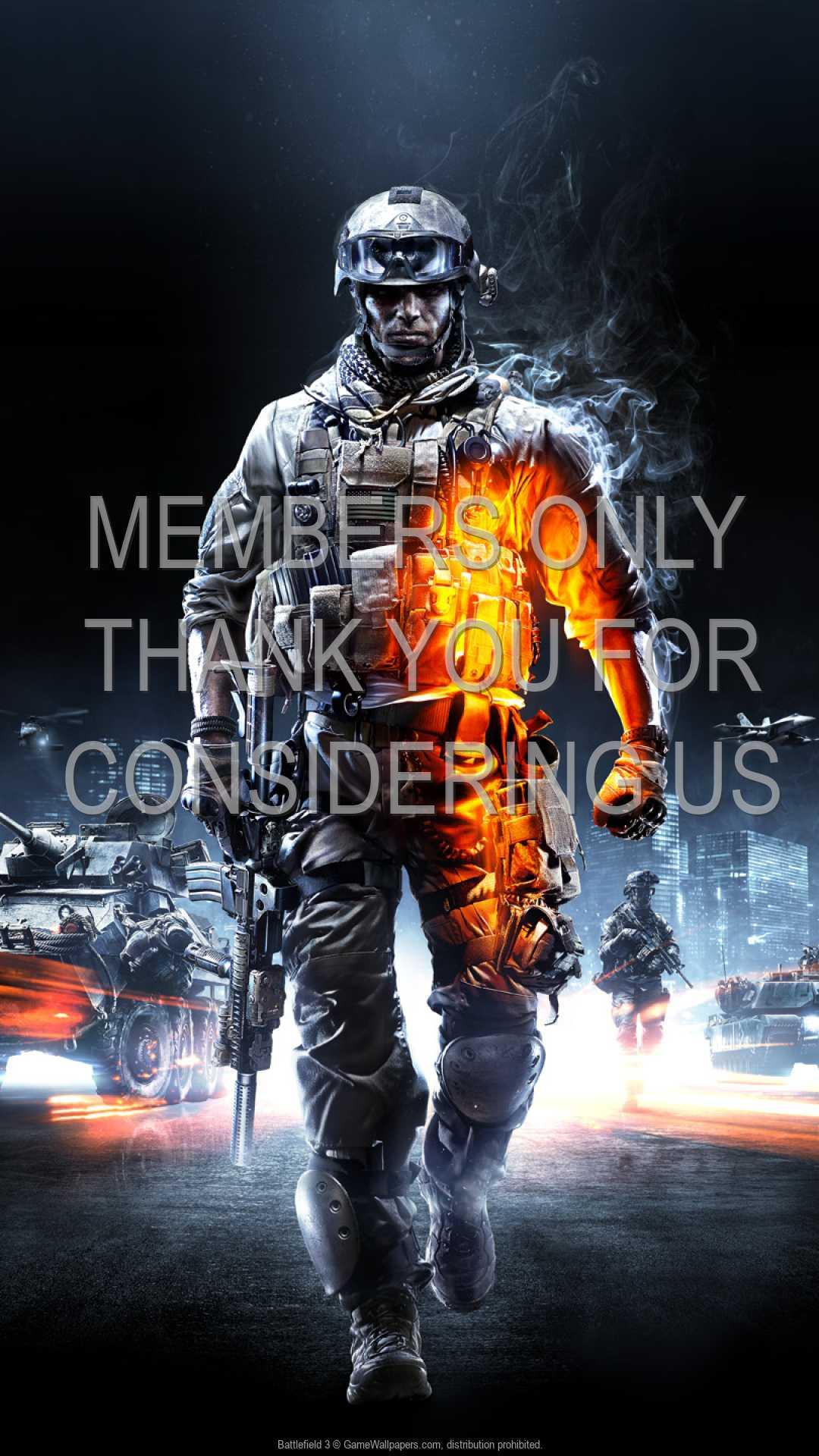 Battlefield 3 1080p Vertical Mobiele achtergrond 01