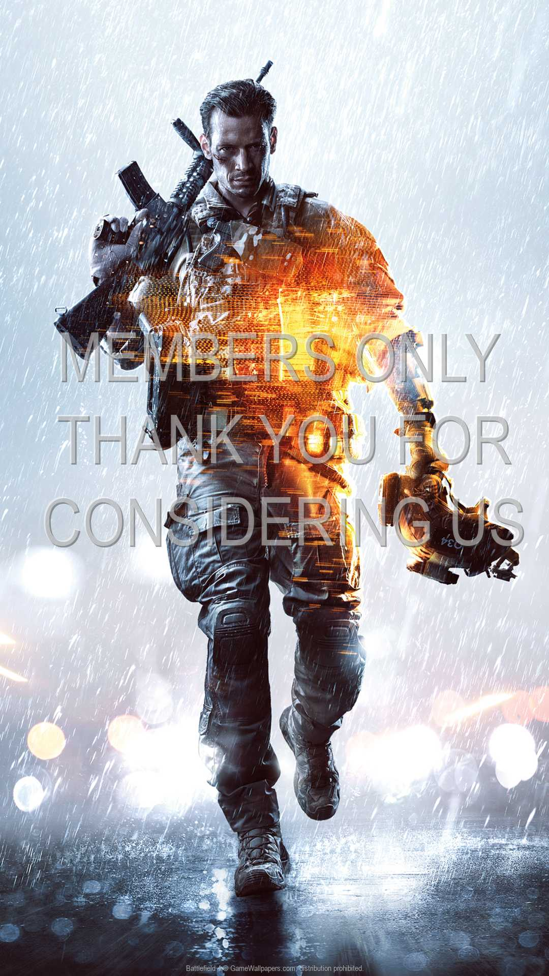 Battlefield 4 1080p Vertical Mobile fond d'écran 02