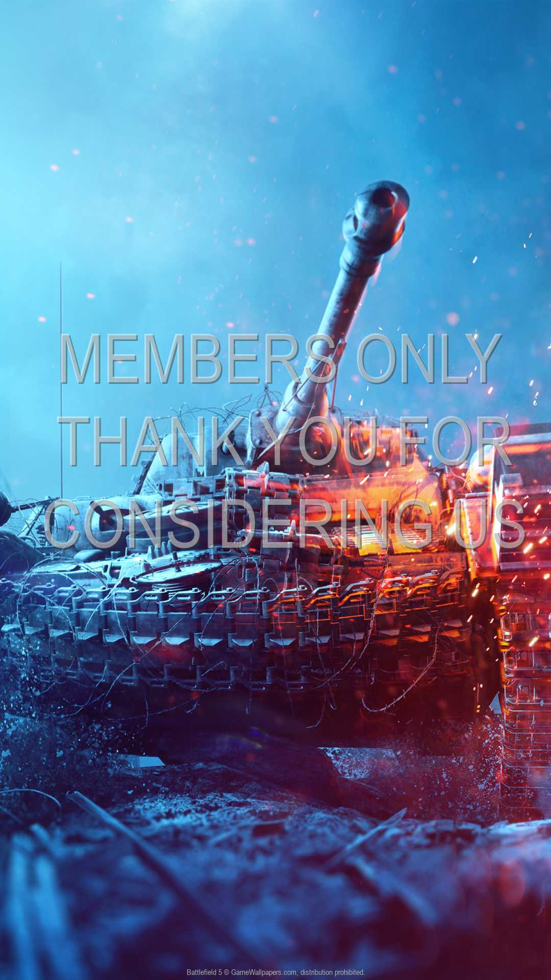 Battlefield 5 1080p Vertical Handy Hintergrundbild 03