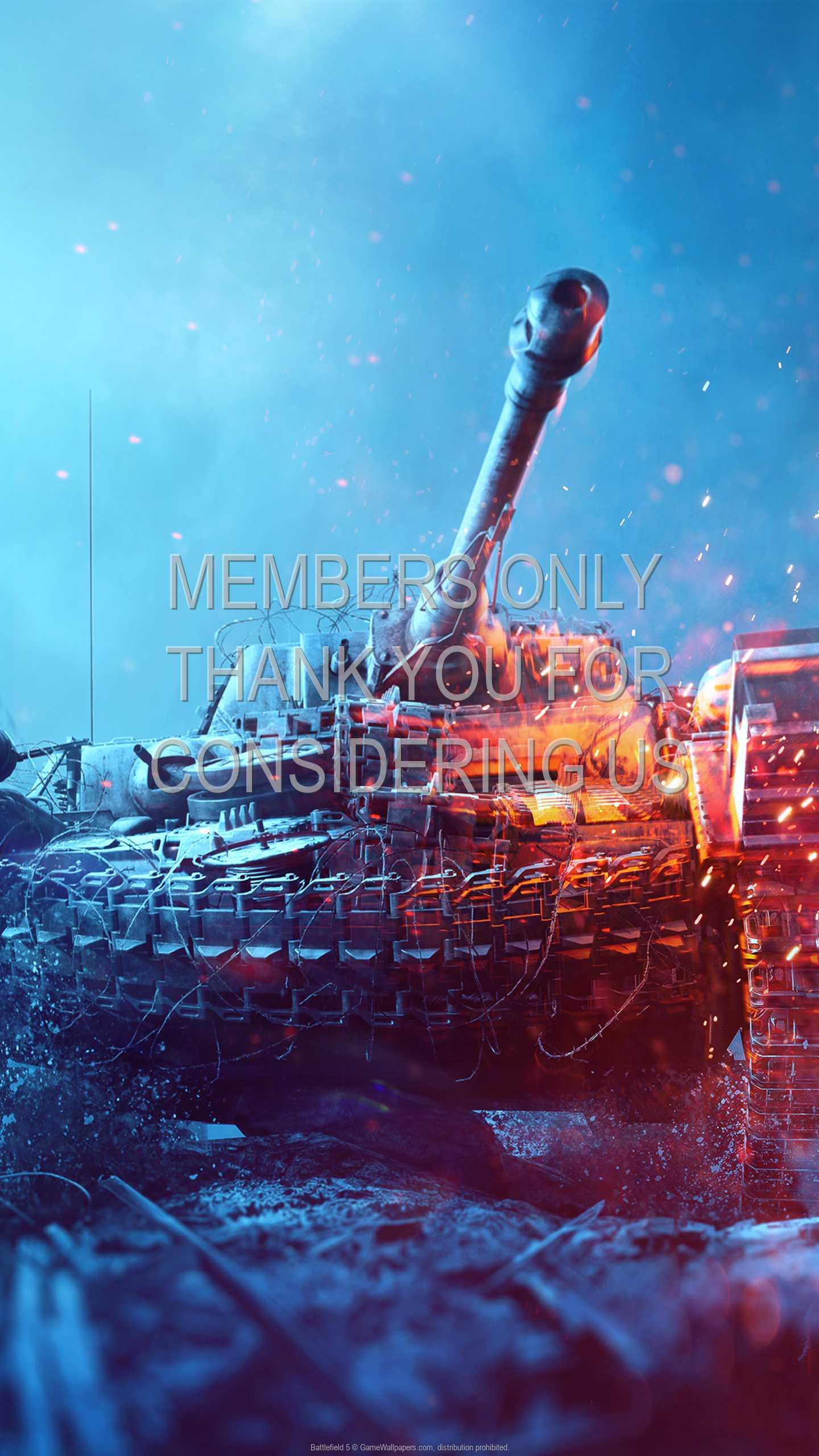 Battlefield 5 1440p Vertical Mobiele achtergrond 03