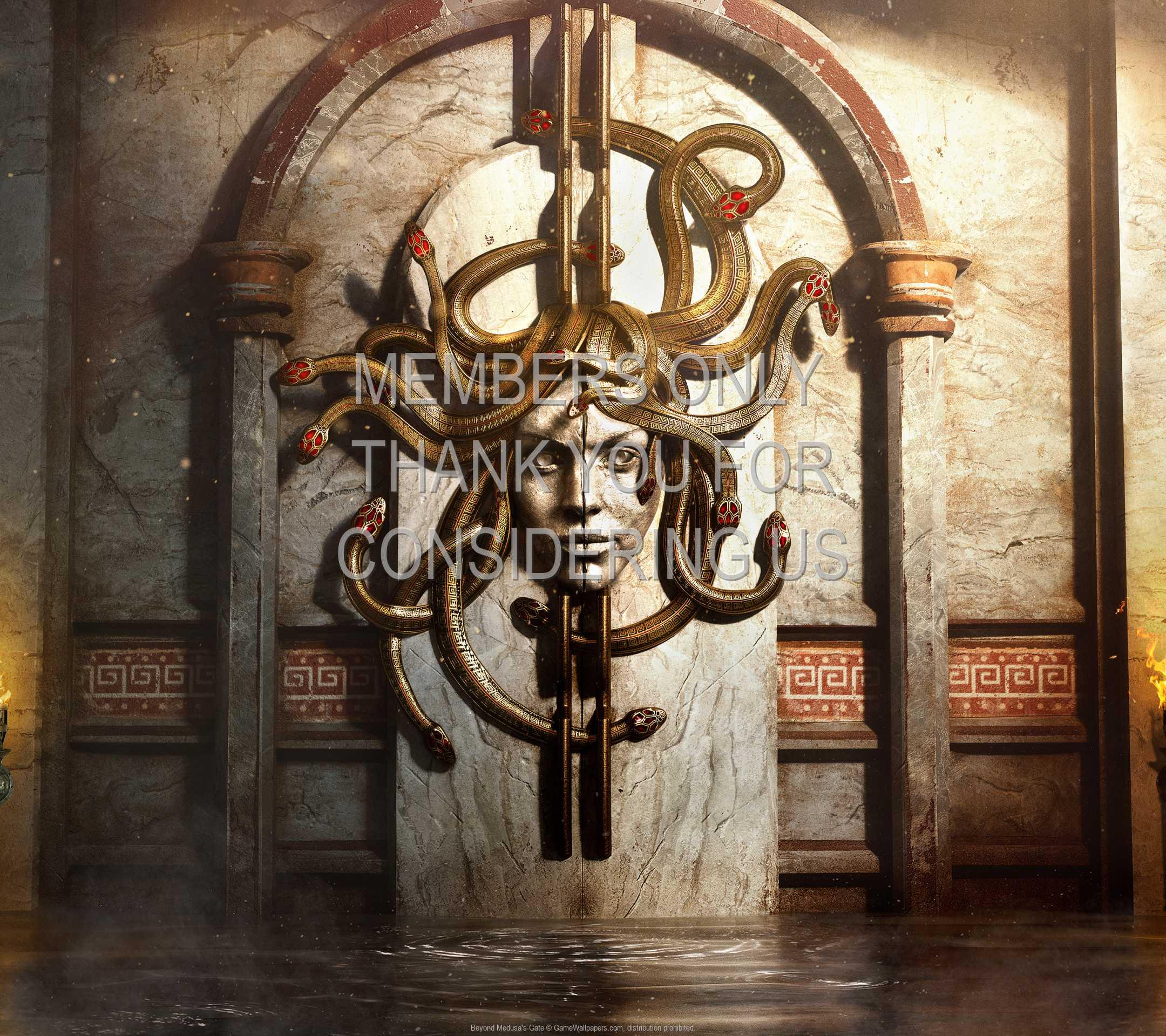 Beyond Medusa's Gate 1080p Horizontal Mobiele achtergrond 01