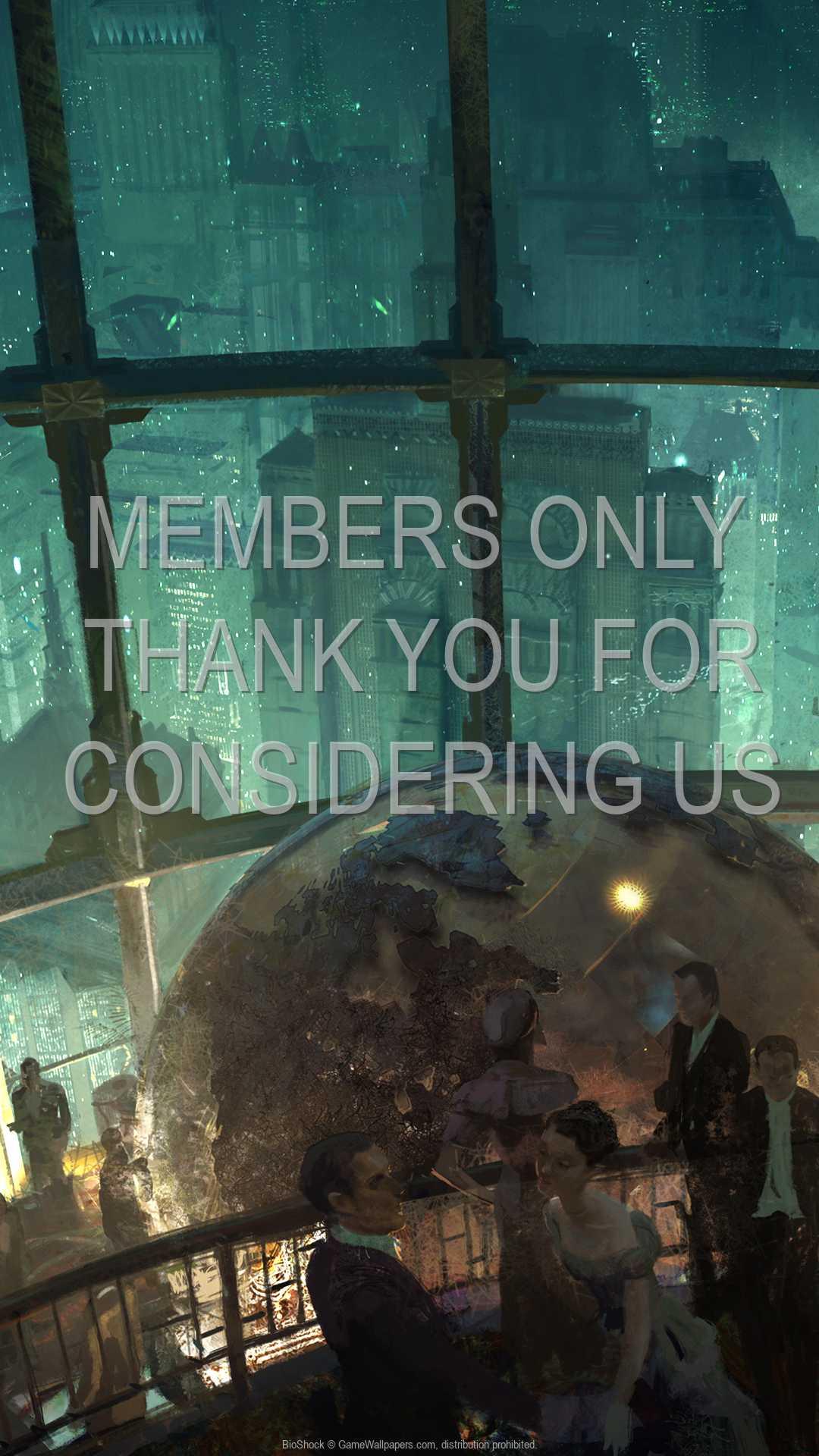 BioShock 1080p Vertical Handy Hintergrundbild 06