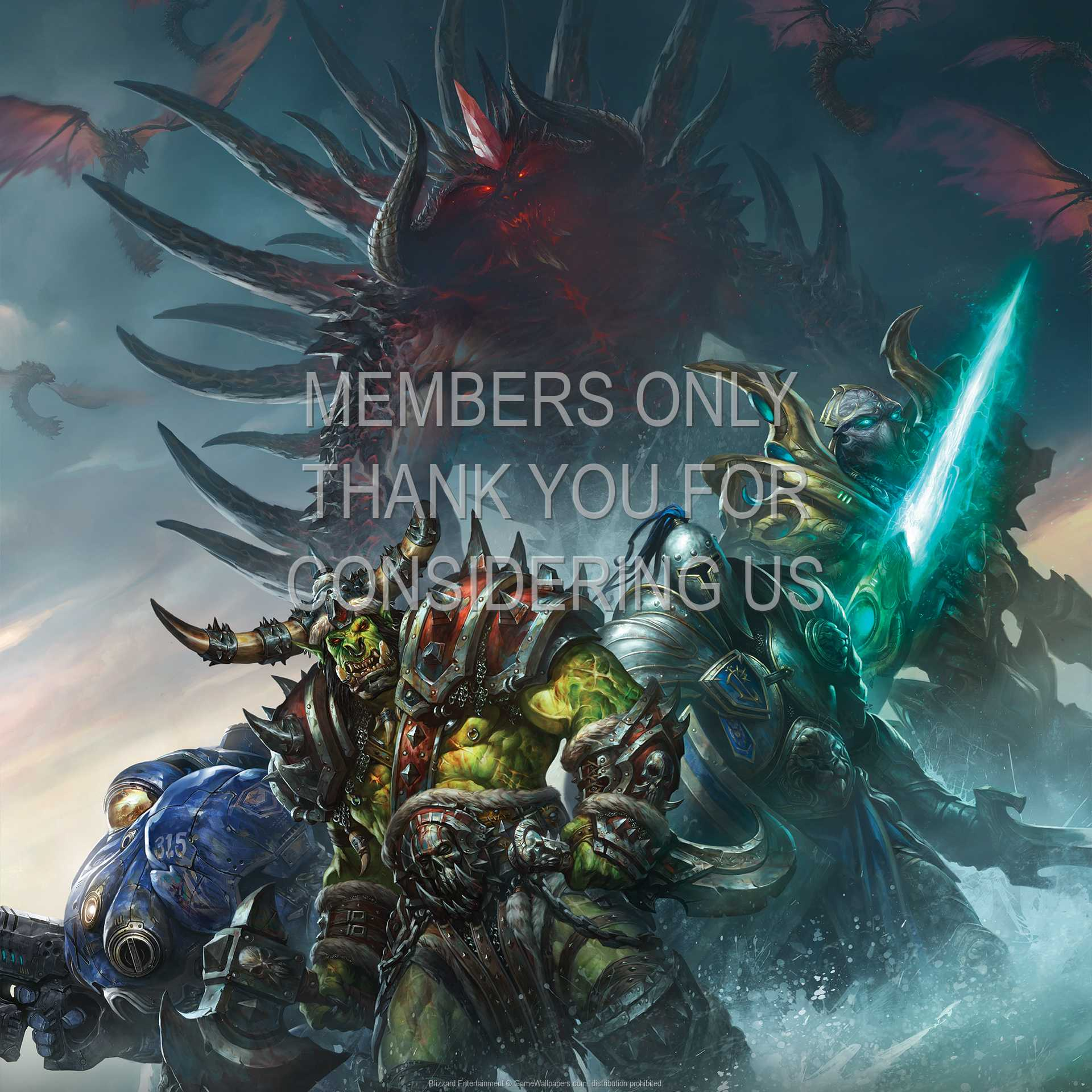 Blizzard Entertainment 1080p Horizontal Mobile wallpaper or background 01