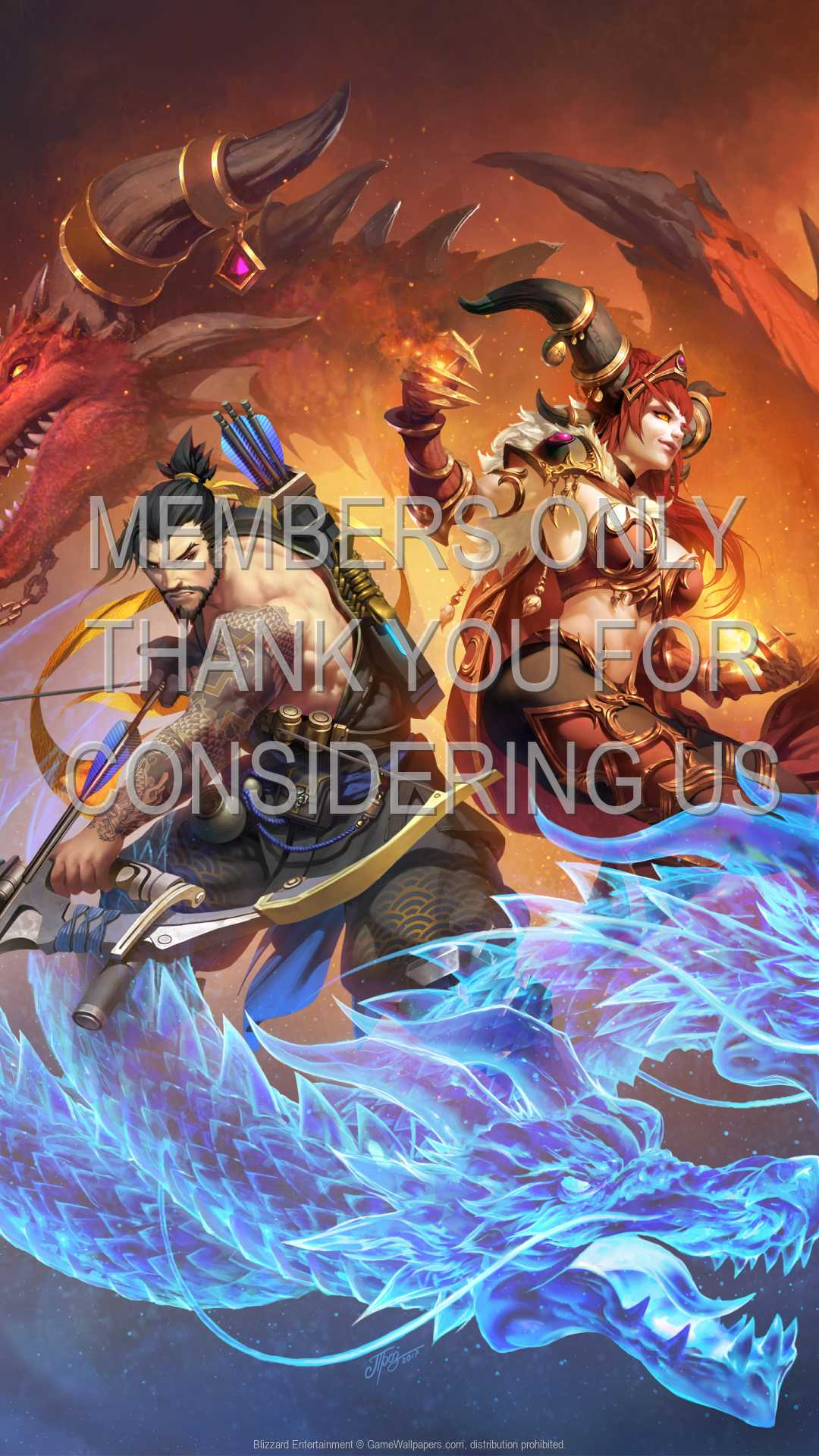 Blizzard Entertainment 1080p Vertical Mobile wallpaper or background 04