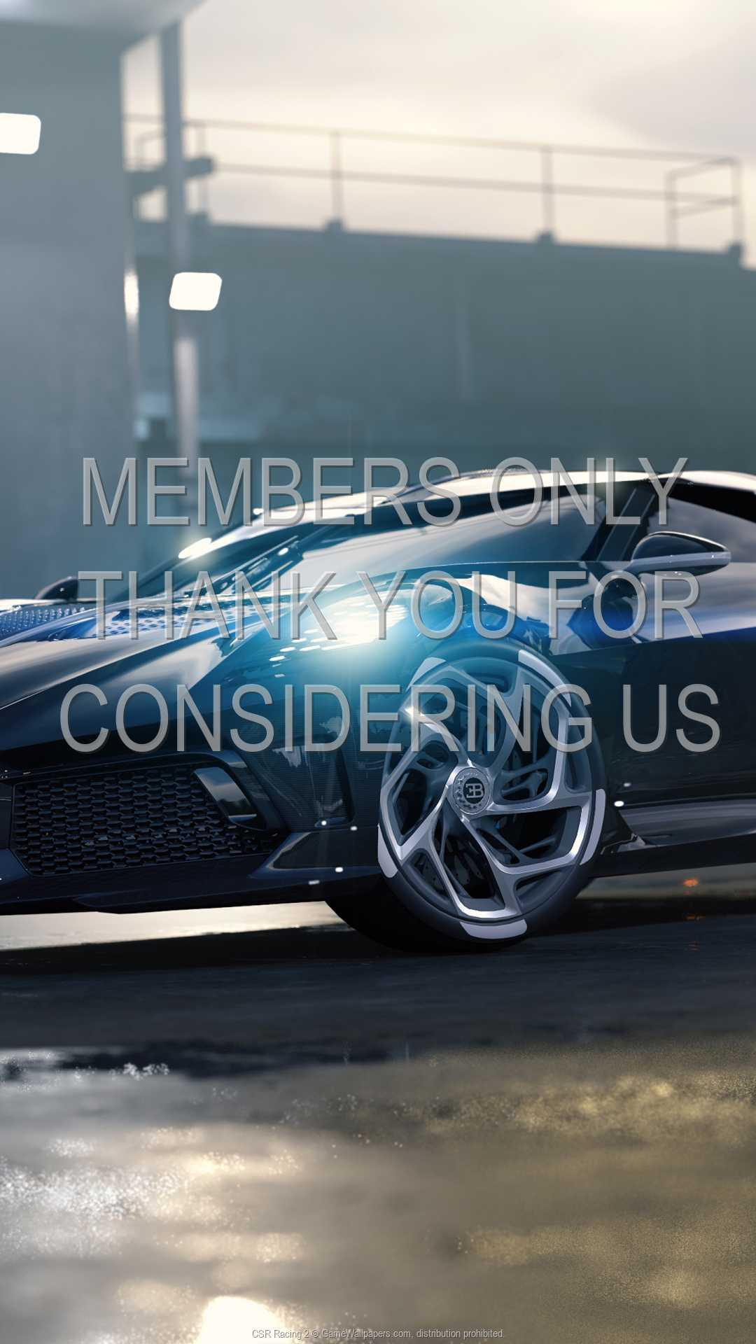 CSR Racing 2 1080p Vertical Handy Hintergrundbild 01