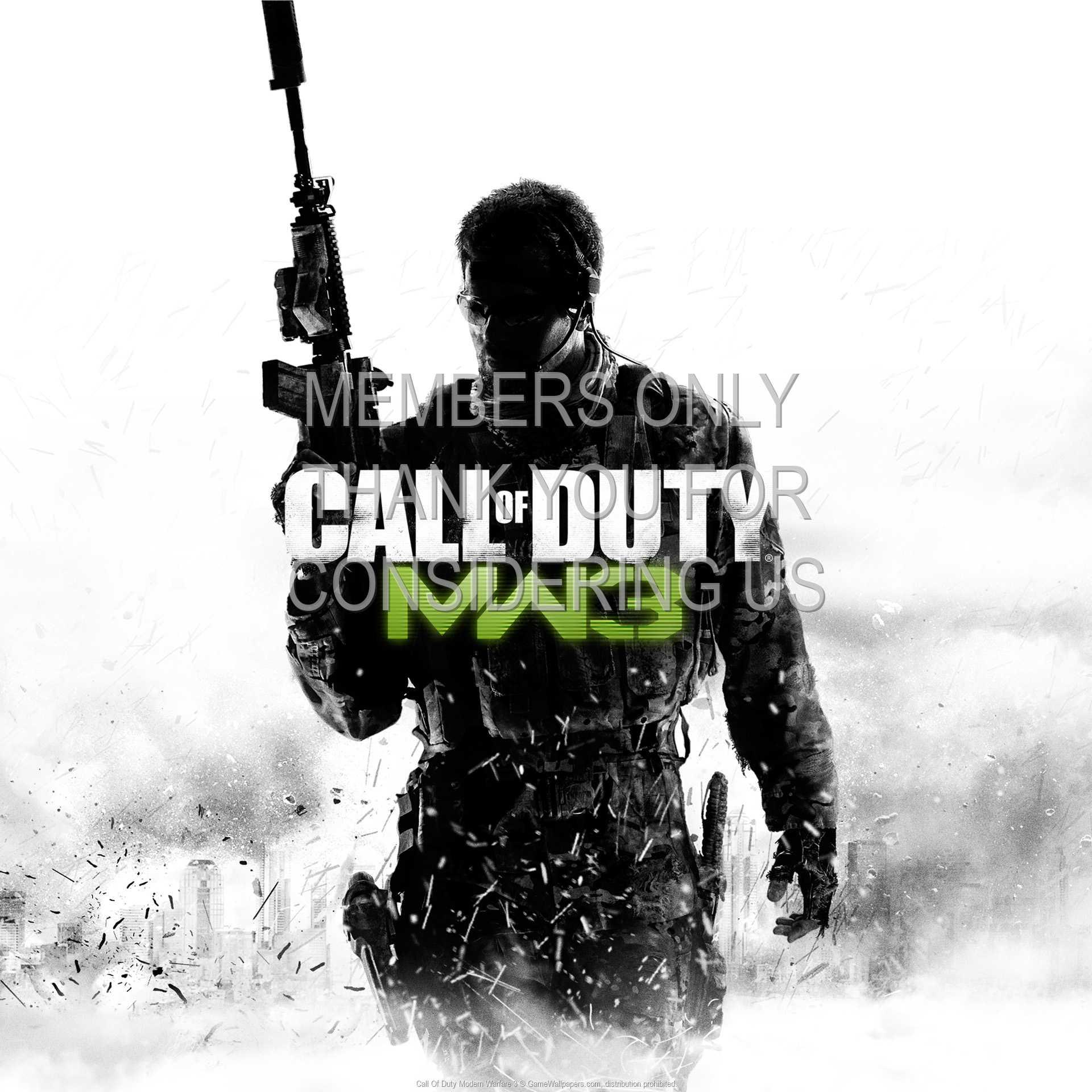 Call Of Duty: Modern Warfare 3 1080p Horizontal Mobiele achtergrond 02