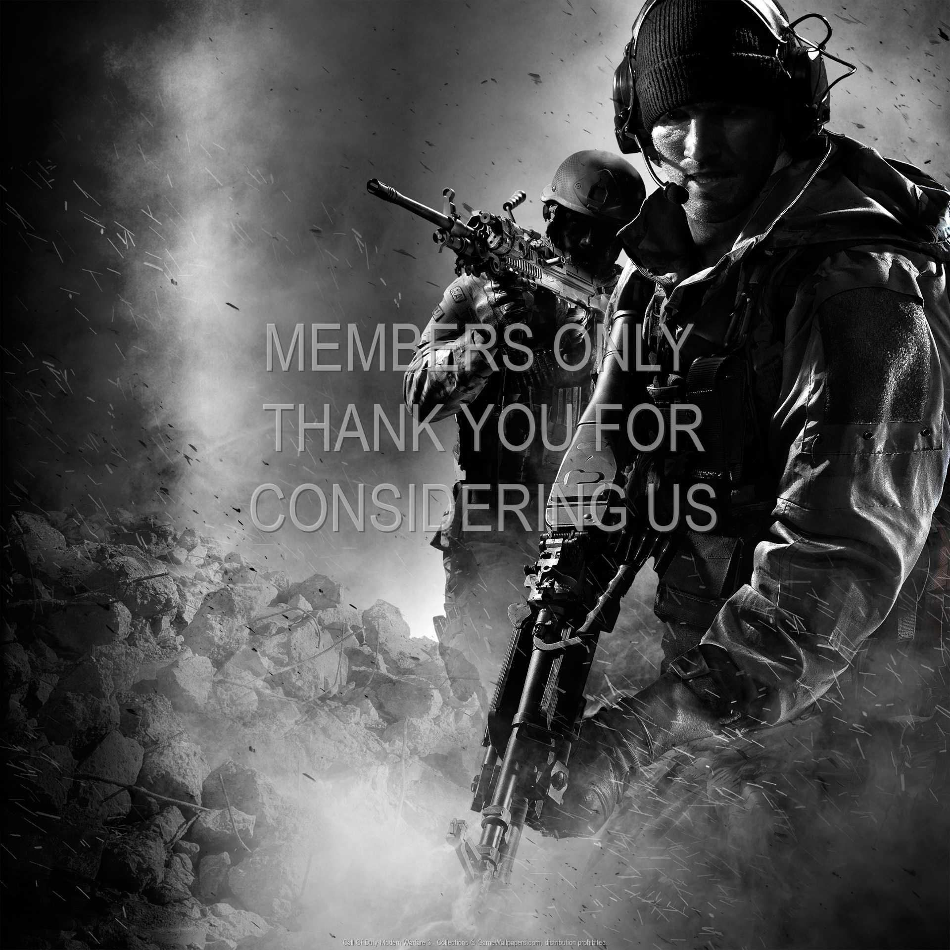 Call Of Duty: Modern Warfare 3 - Collections 1080p Horizontal Handy Hintergrundbild 01