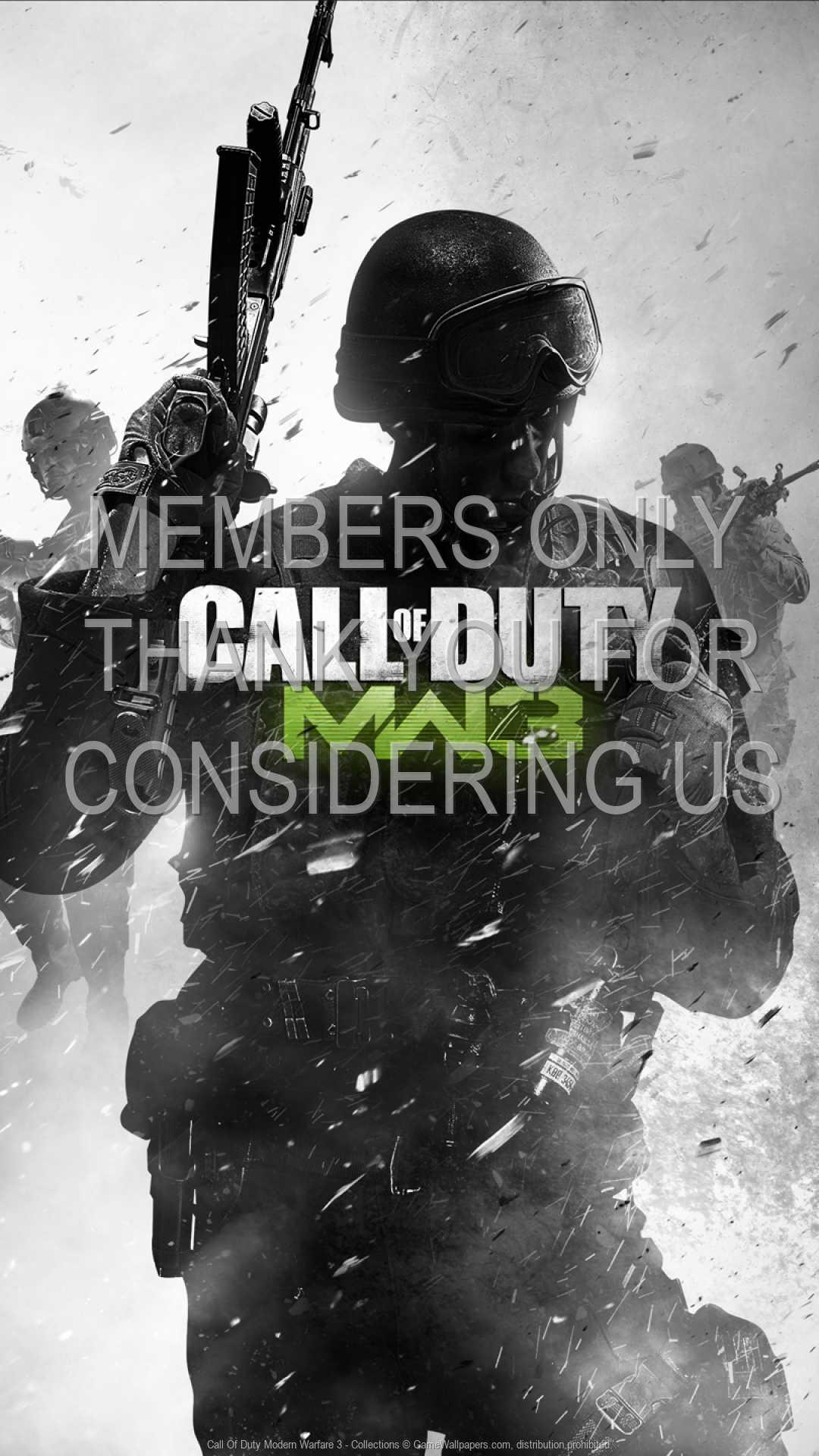 Call Of Duty: Modern Warfare 3 - Collections 1080p Vertical Handy Hintergrundbild 02