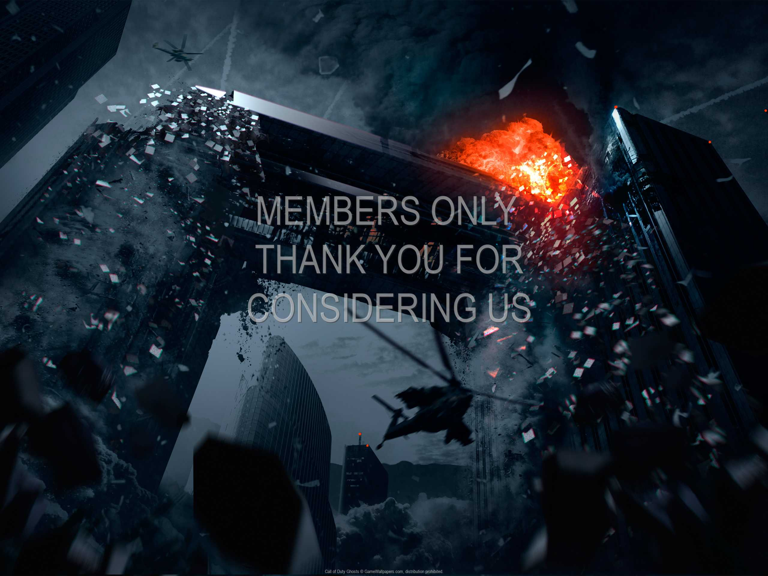 Call of Duty: Ghosts 1080p Horizontal Handy Hintergrundbild 02