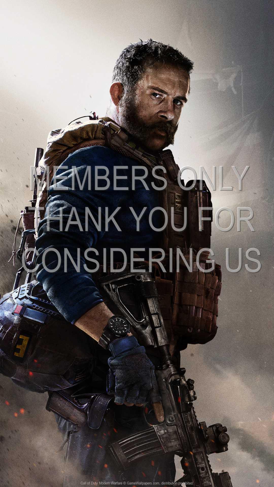Call of Duty: Modern Warfare 1080p Vertical Mobile fond d'écran 01