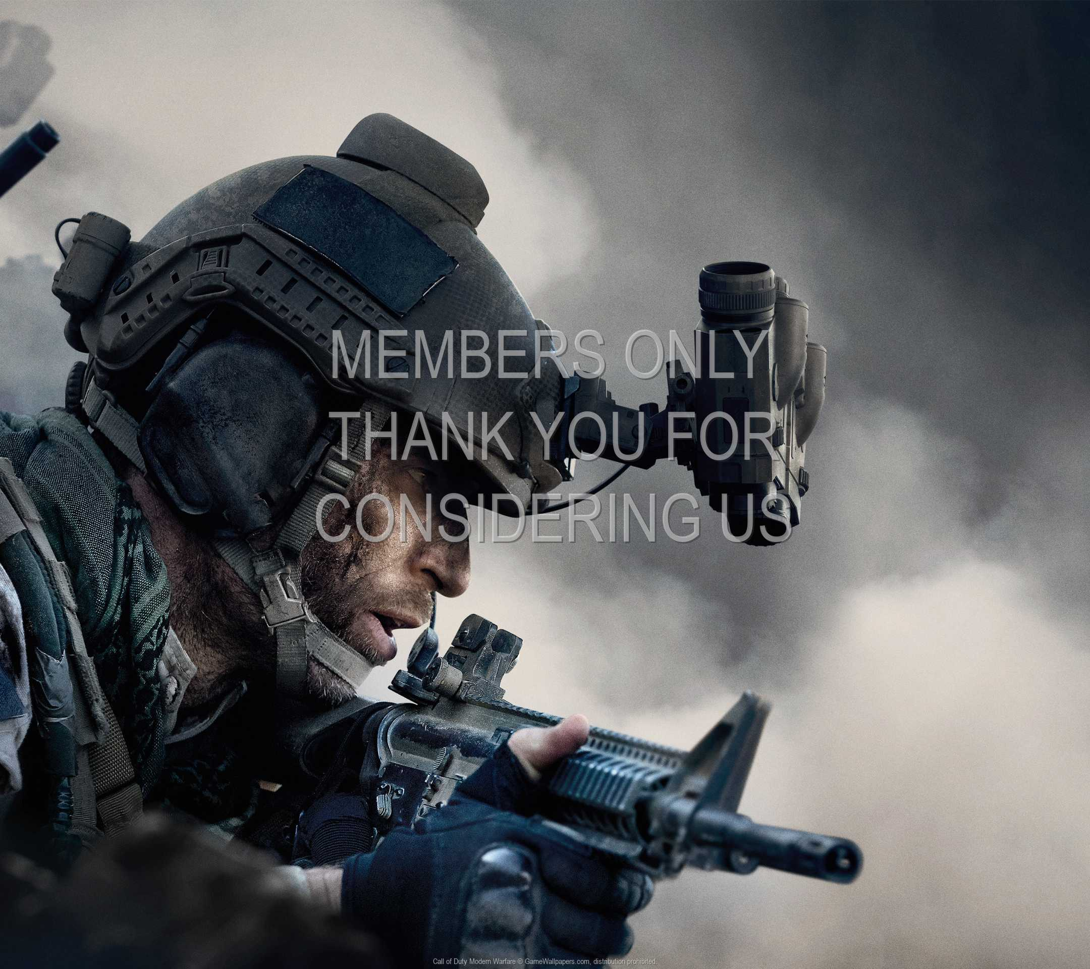 Call of Duty: Modern Warfare 1080p Horizontal Handy Hintergrundbild 02