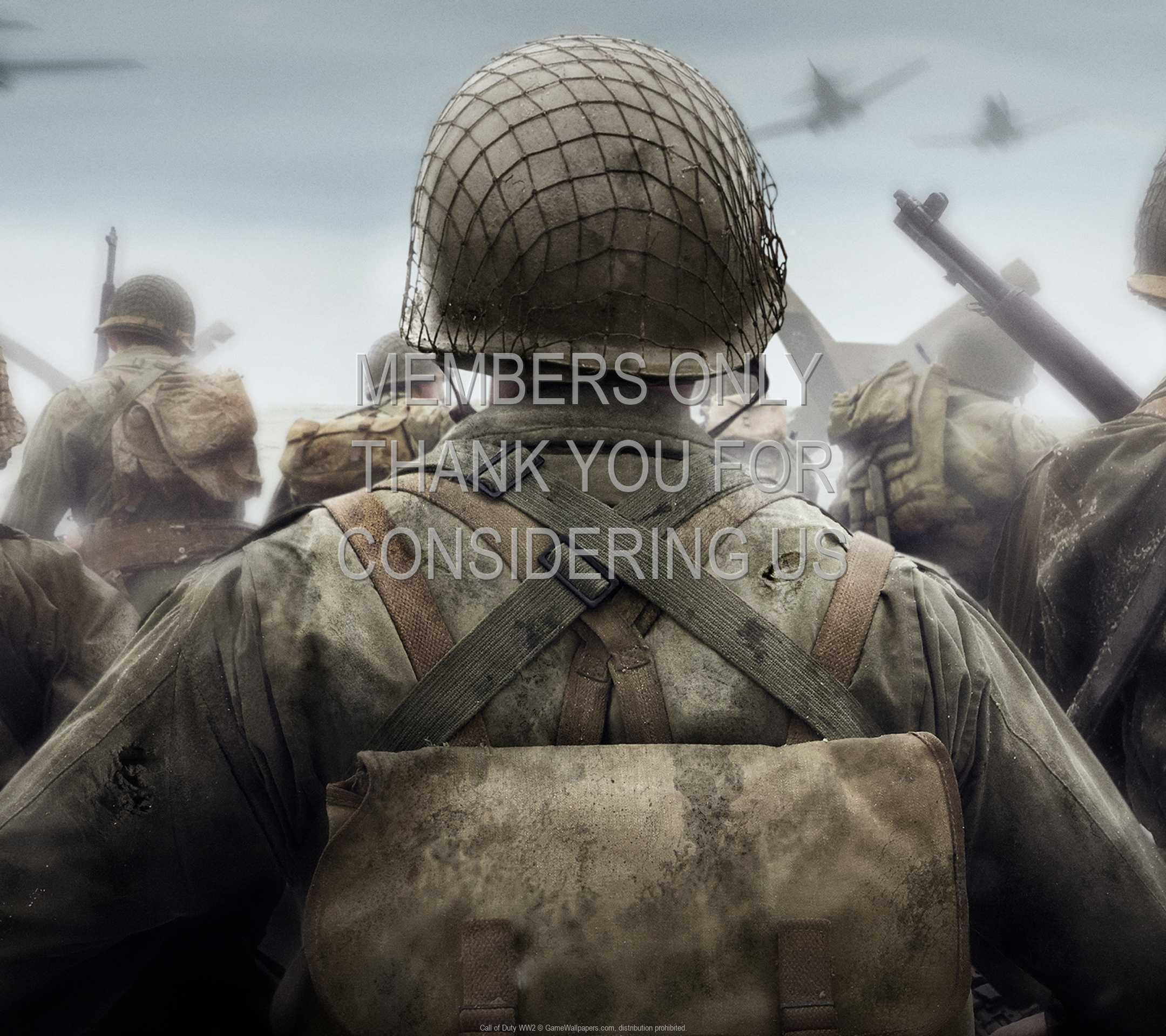 Call of Duty: WW2 1080p Horizontal Handy Hintergrundbild 01
