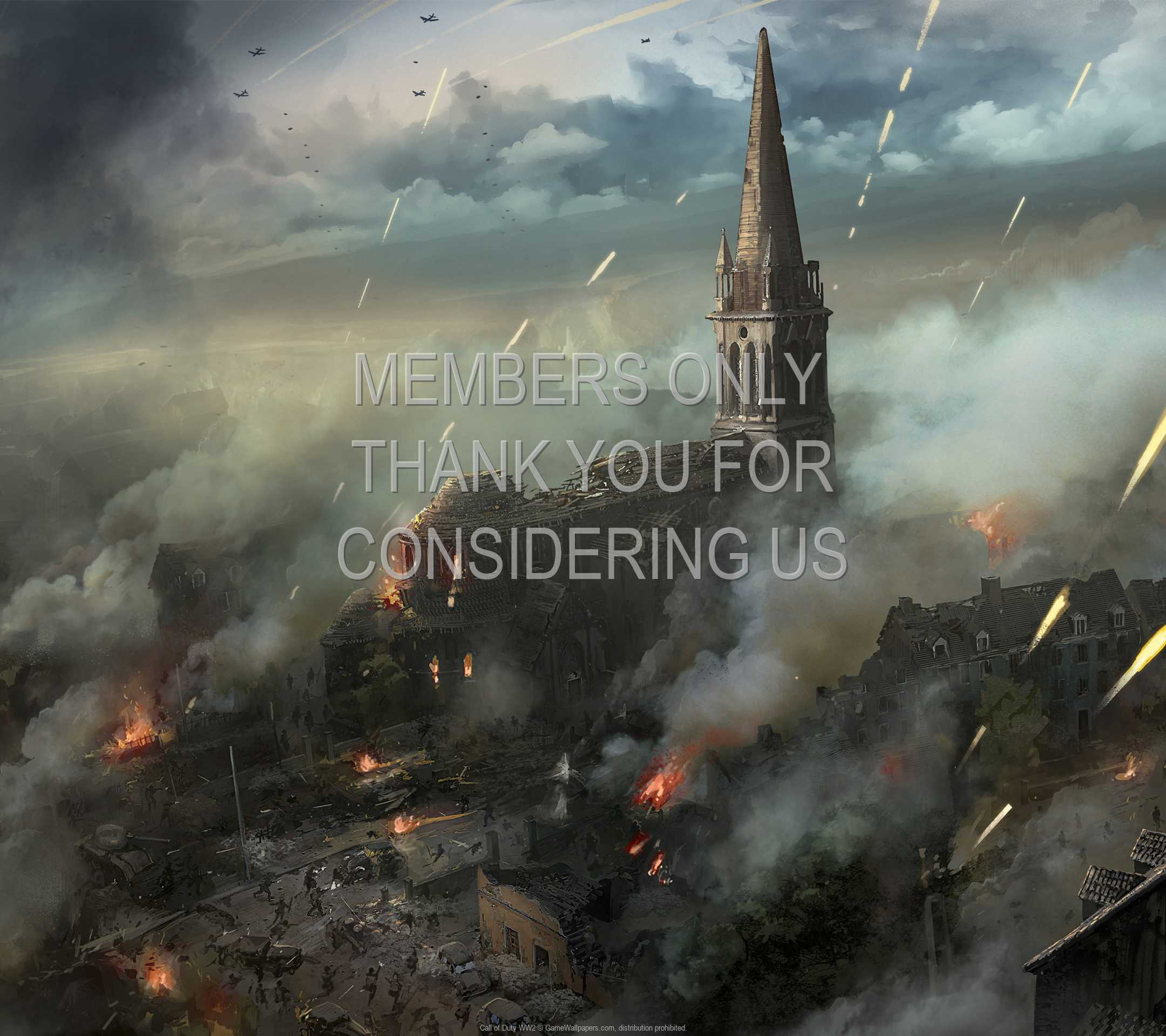 Call of Duty: WW2 1080p Horizontal Móvil fondo de escritorio 03