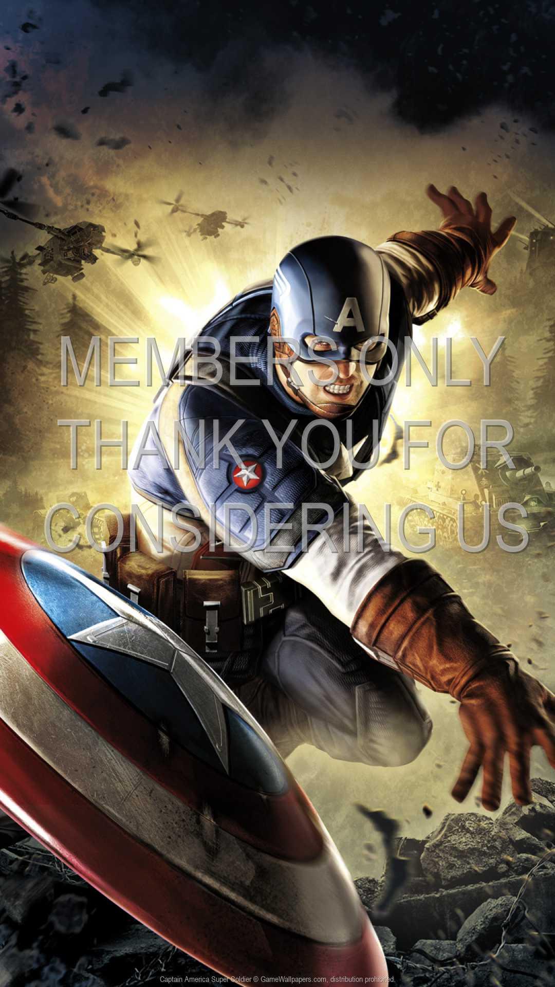 Captain America: Super Soldier 1080p Vertical Handy Hintergrundbild 01