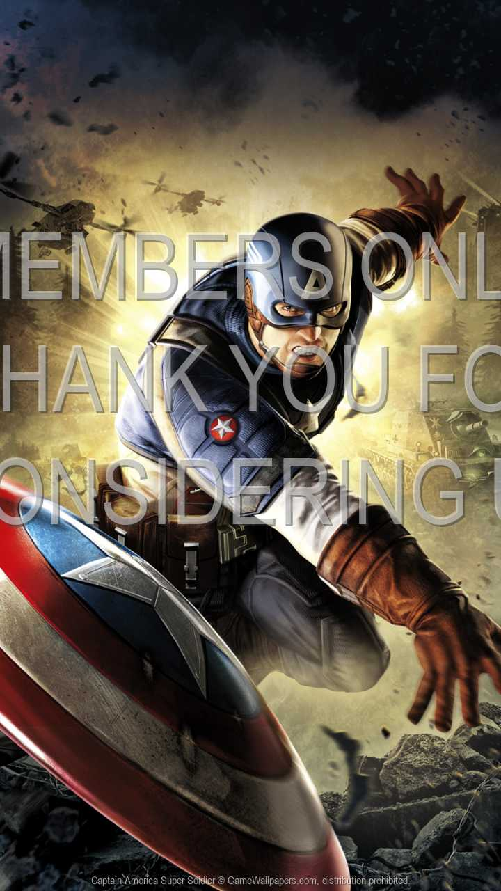Captain America: Super Soldier 720p Vertical Móvil fondo de escritorio 01