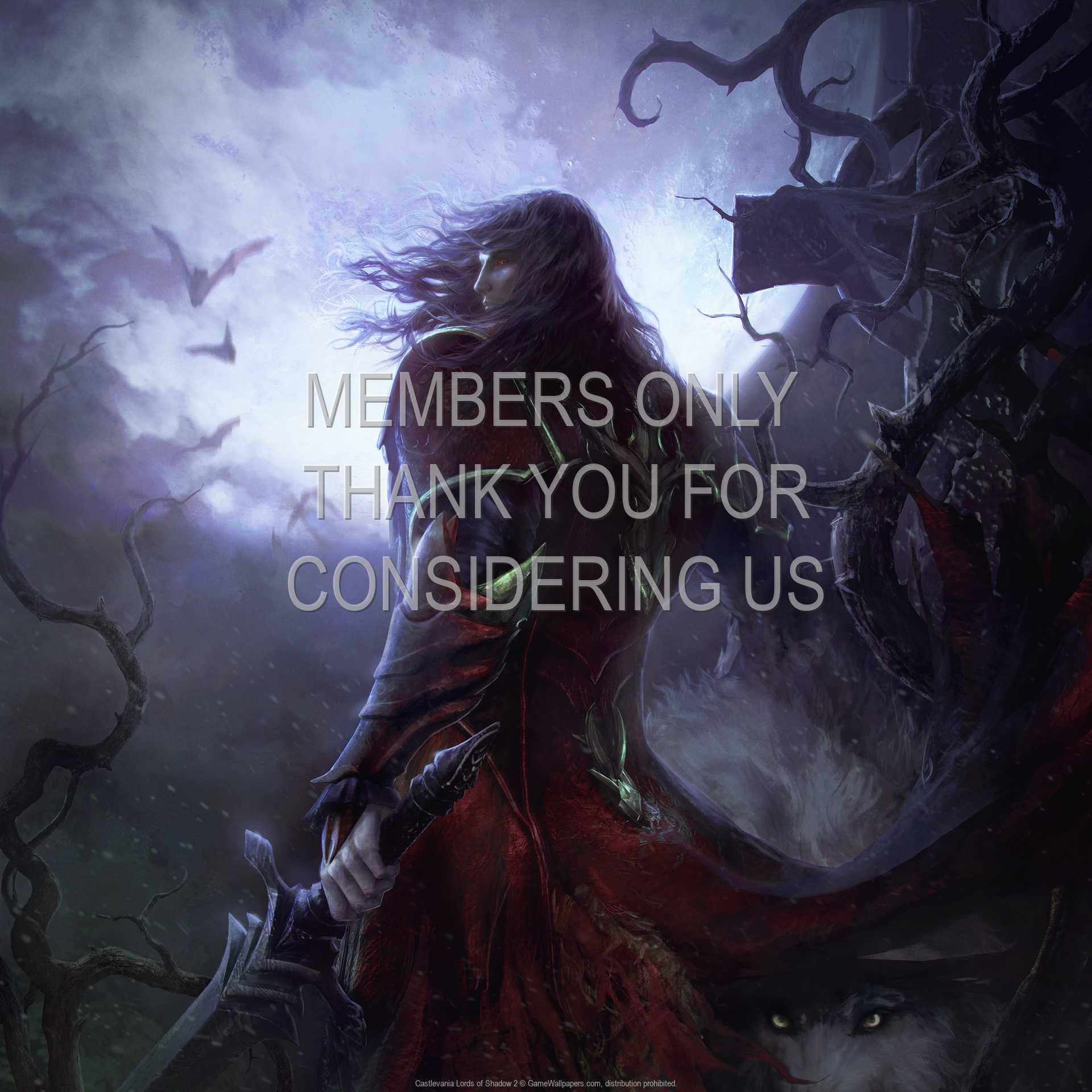 Castlevania: Lords of Shadow 2 1080p Horizontal Handy Hintergrundbild 01