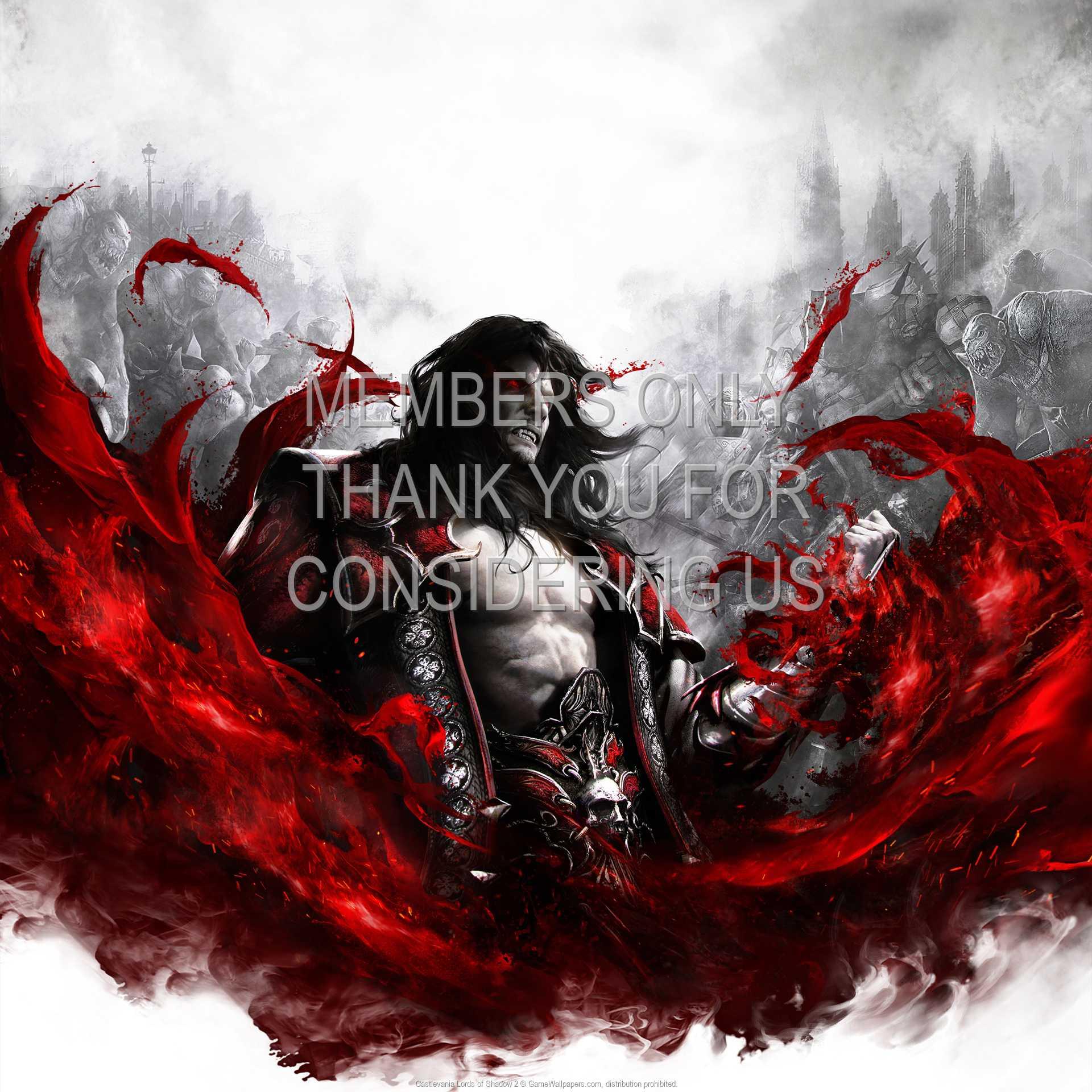 Castlevania: Lords of Shadow 2 1080p Horizontal Handy Hintergrundbild 03