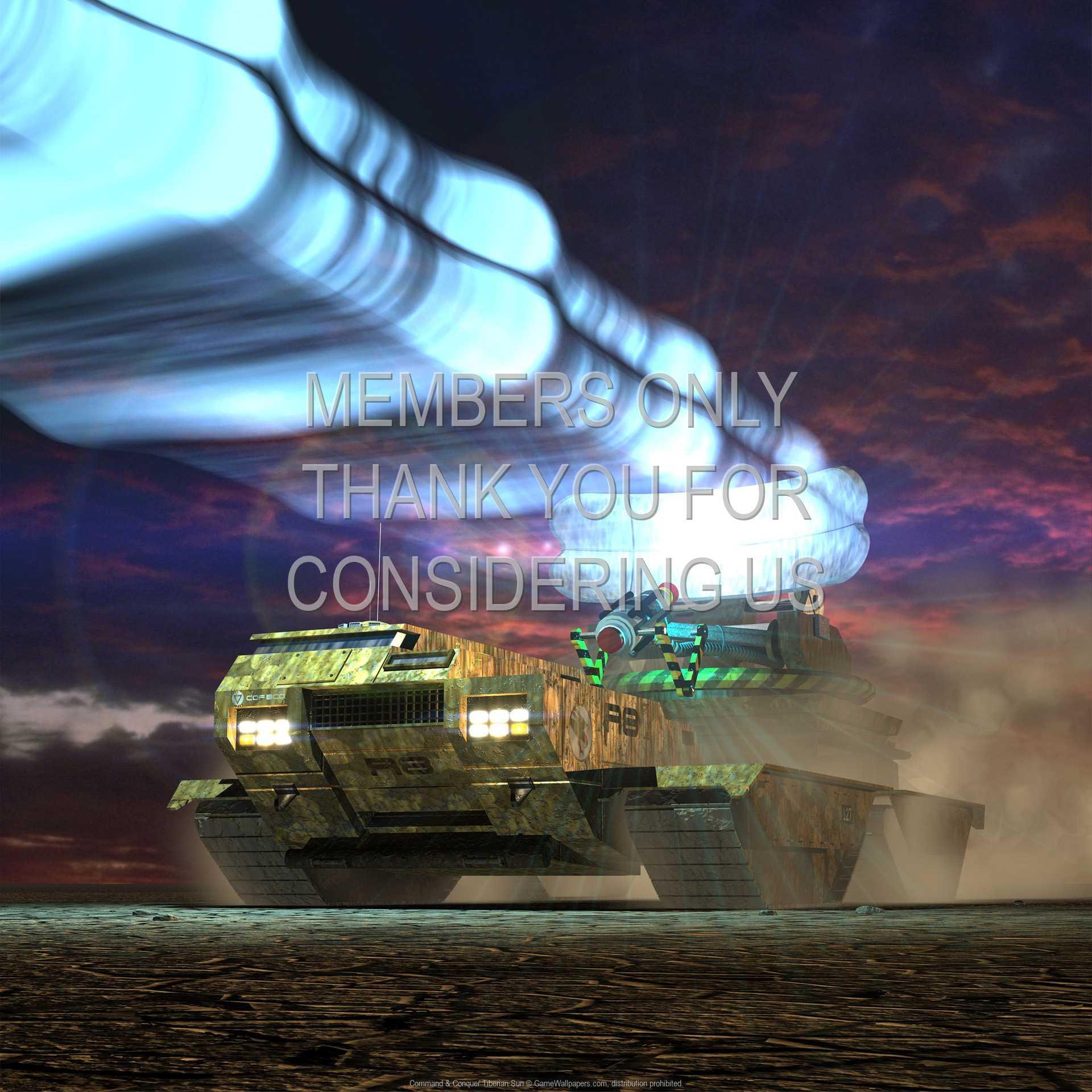 Command & Conquer: Tiberian Sun 1080p Horizontal Handy Hintergrundbild 01