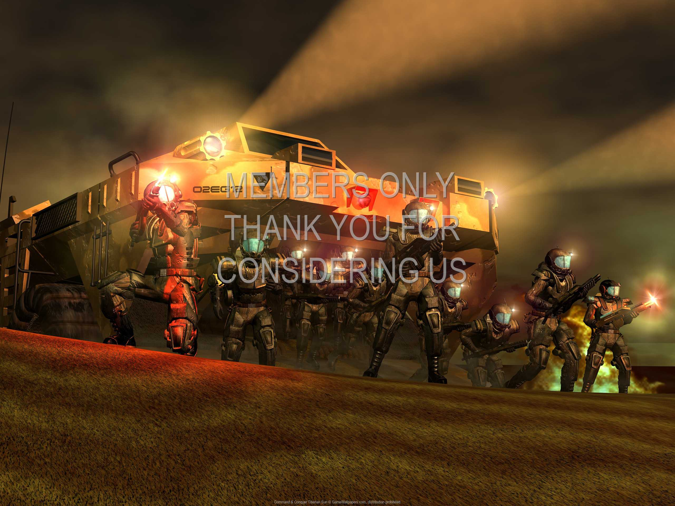 Command & Conquer: Tiberian Sun 1080p Horizontal Handy Hintergrundbild 02