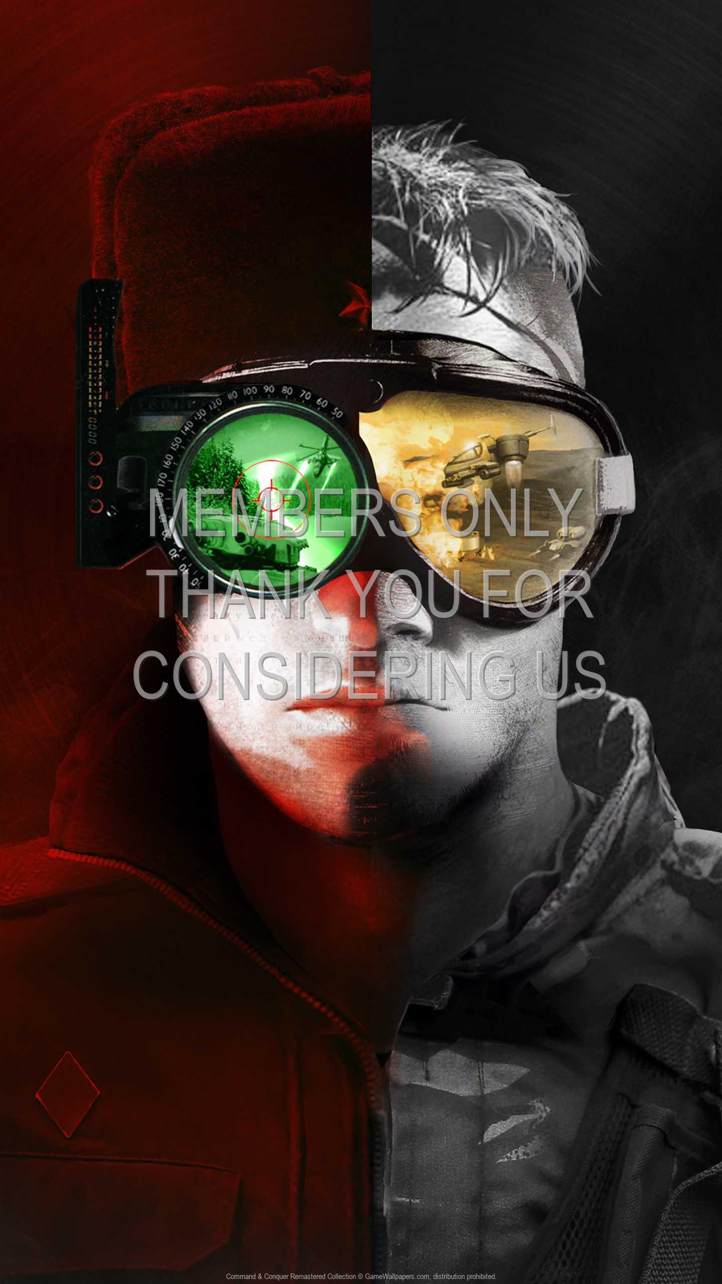 Command & Conquer Remastered Collection 1440p Vertical Handy Hintergrundbild 01