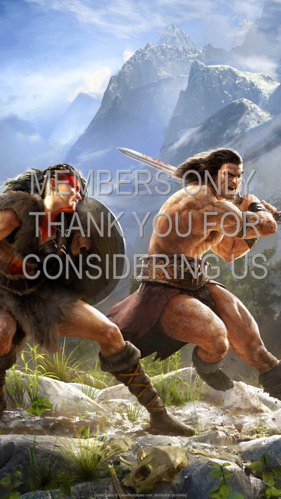 Conan Exiles 1080p Vertical Handy Hintergrundbild 01