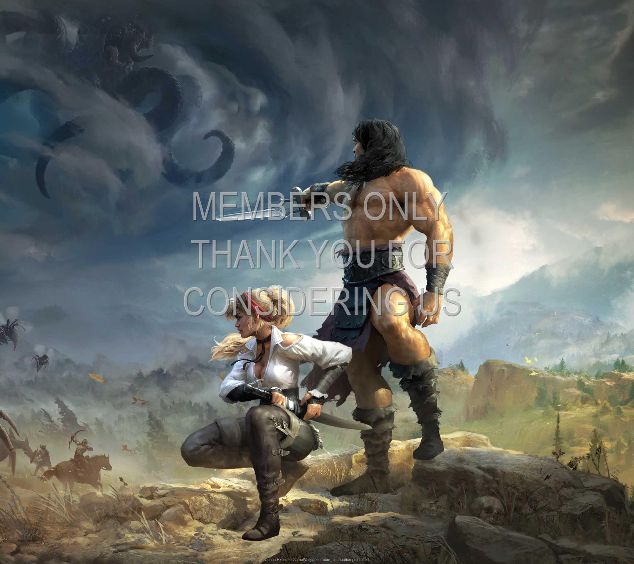Conan Exiles 1080p Horizontal Mobile wallpaper or background 02