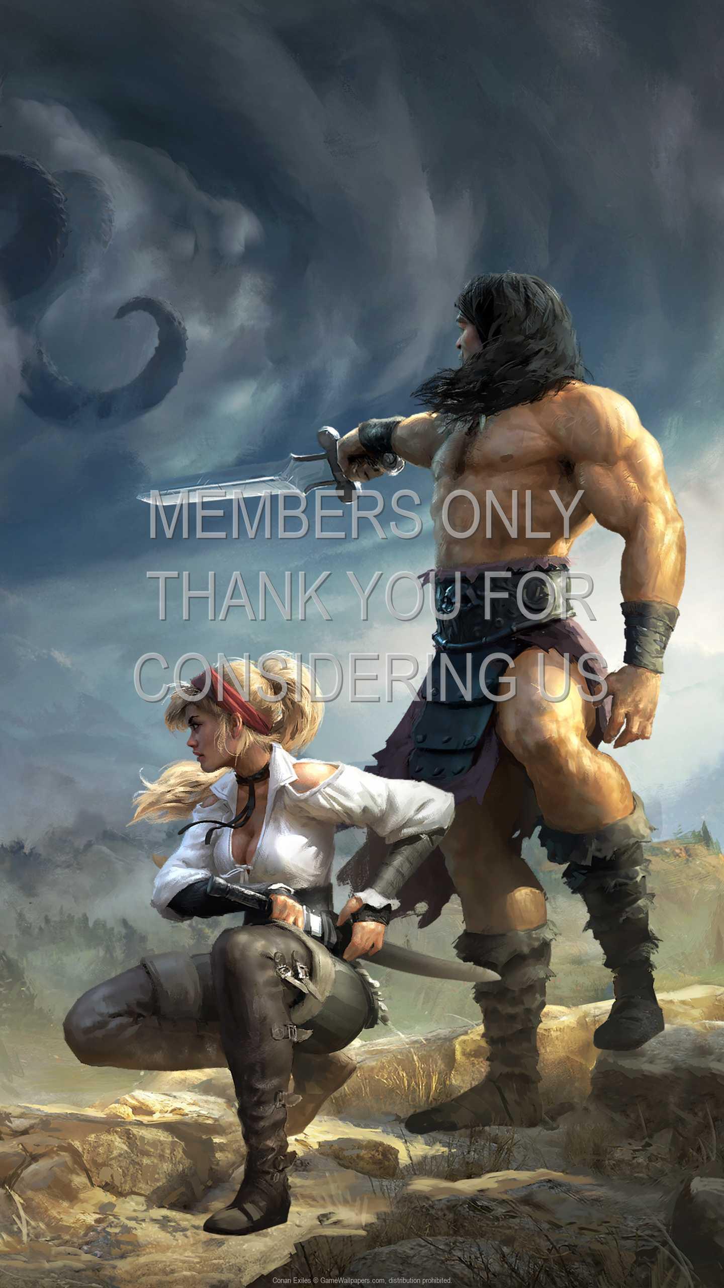 Conan Exiles 1440p Vertical Mobile fond d'écran 02