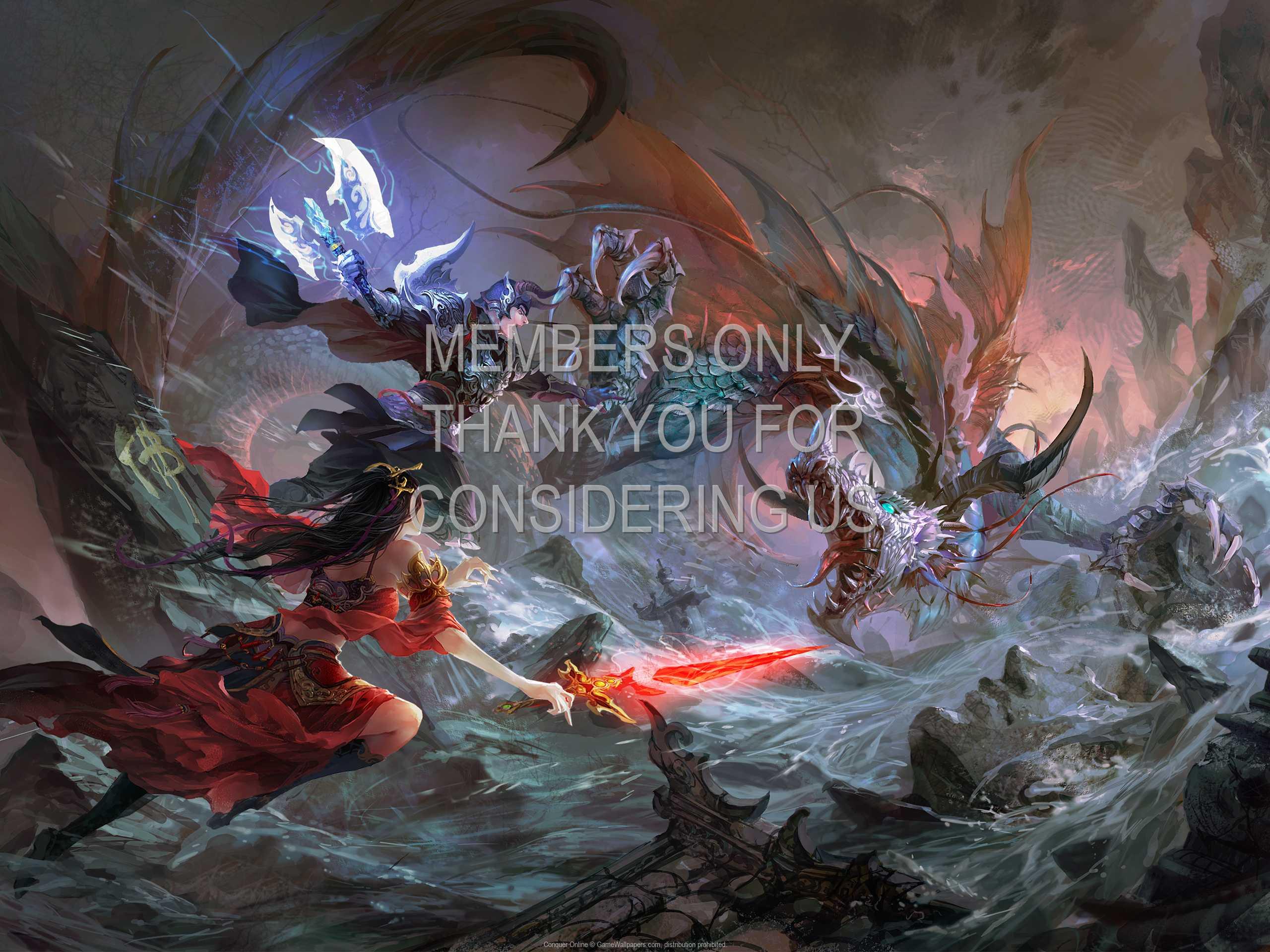 Conquer Online 1080p Horizontal Handy Hintergrundbild 01