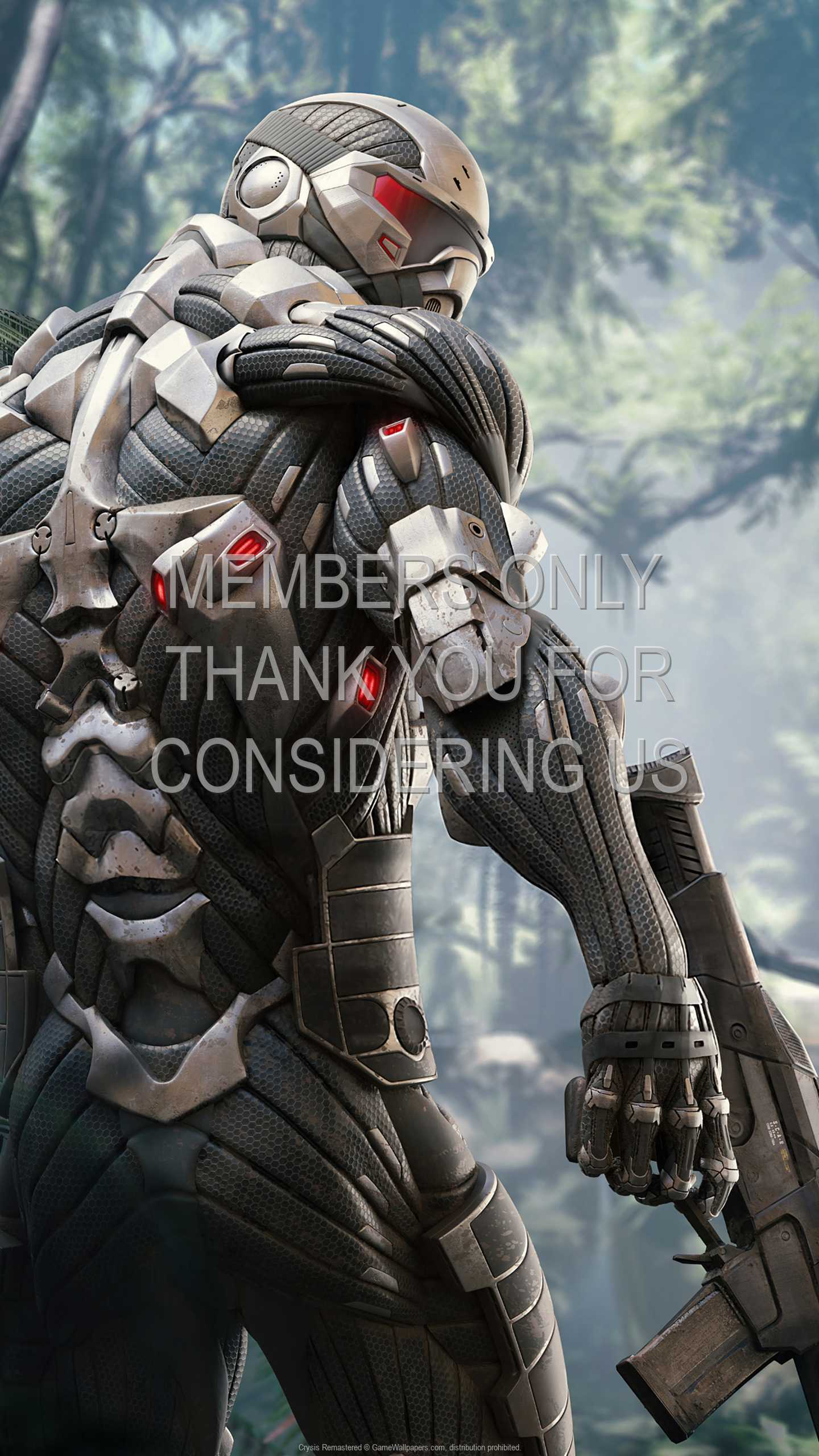 Crysis: Remastered 1440p Vertical Móvil fondo de escritorio 01