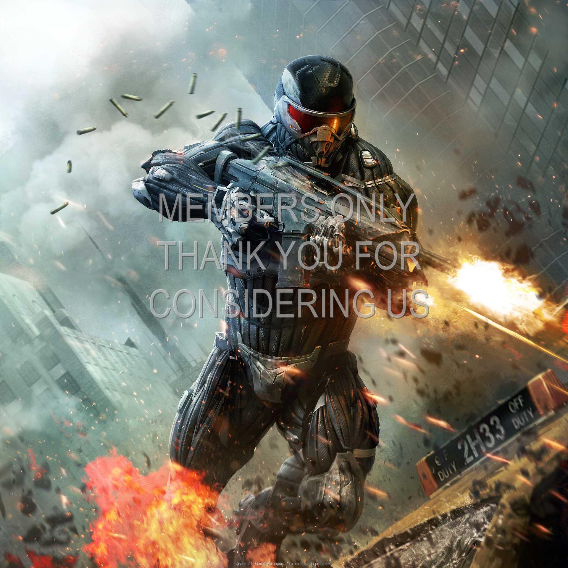 Crysis 2 1080p Horizontal Mobile fond d'écran 03