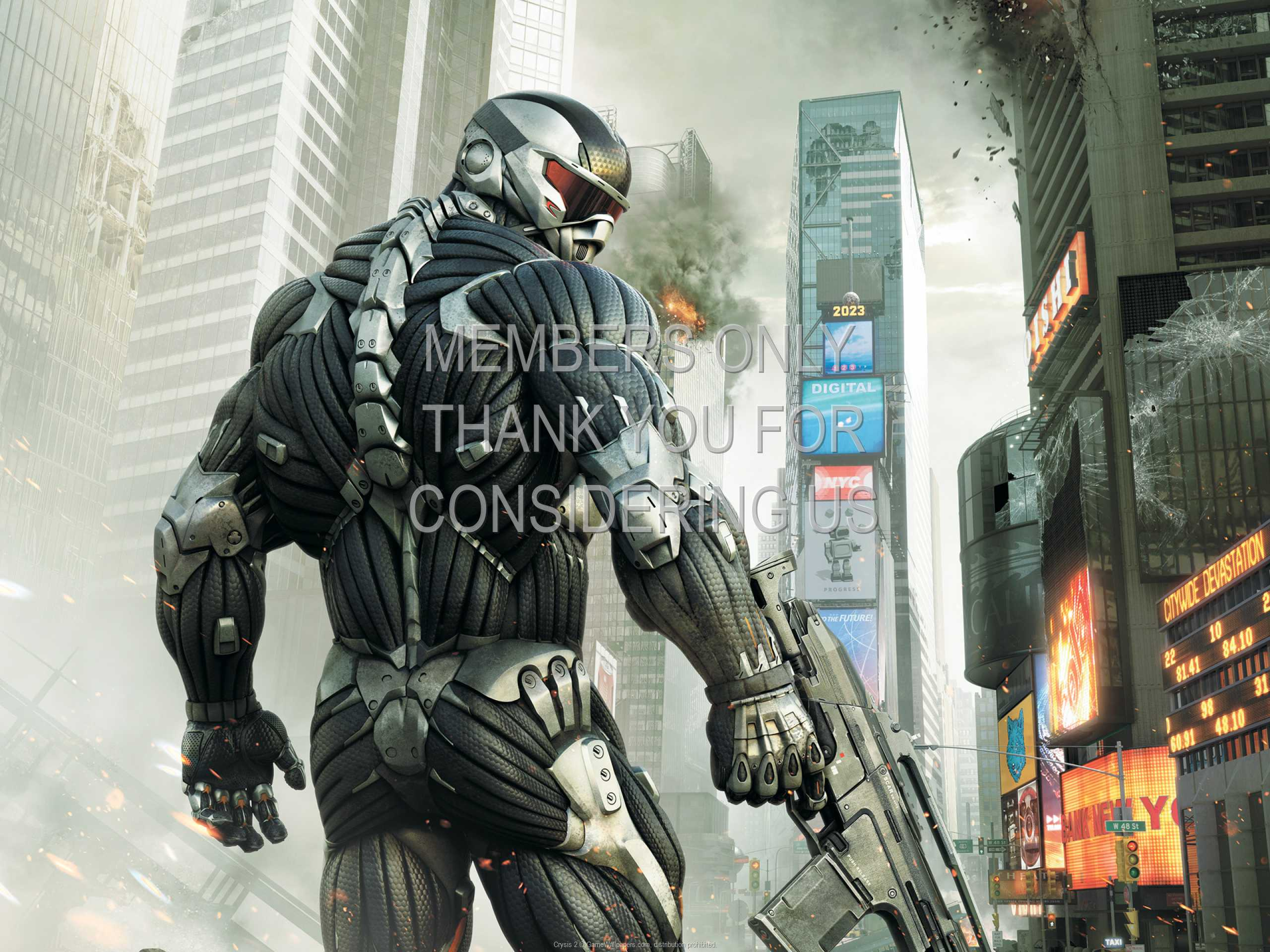 Crysis 2 1080p Horizontal Handy Hintergrundbild 09