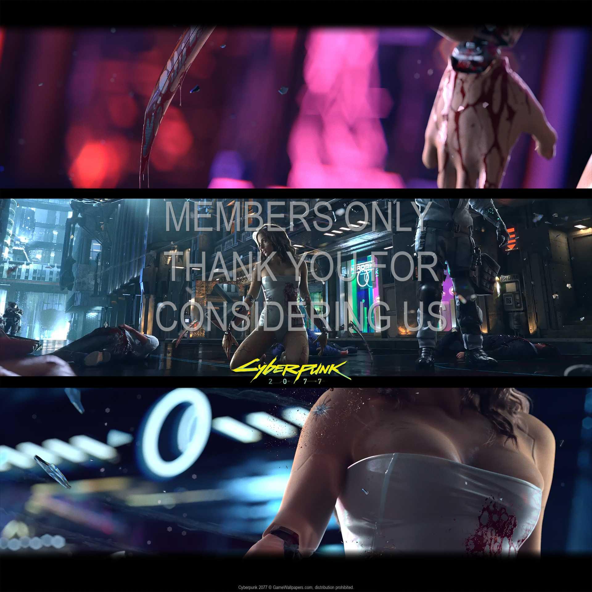 Cyberpunk 2077 1080p Horizontal Handy Hintergrundbild 02
