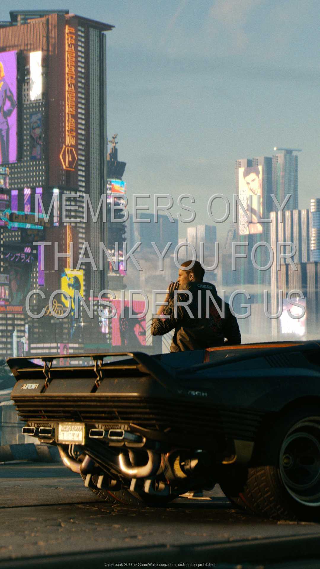 Cyberpunk 2077 1080p Vertical Mobile fond d'écran 06