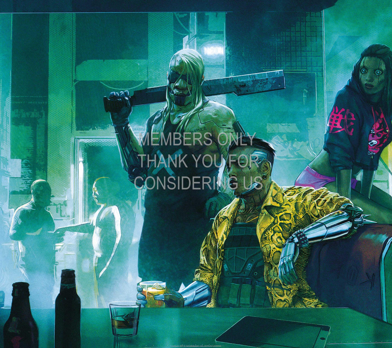 Cyberpunk 2077 1440p Horizontal Mobile fond d'écran 07