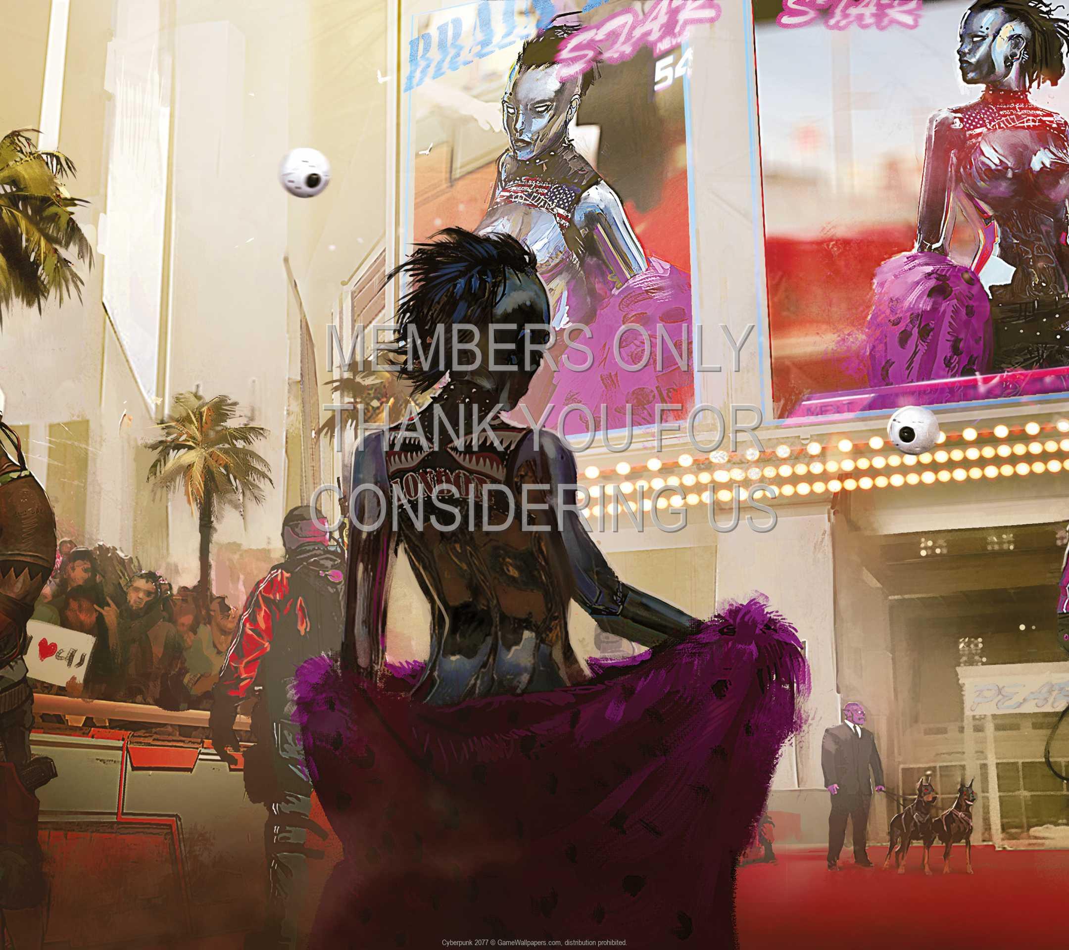 Cyberpunk 2077 1080p Horizontal Mobiele achtergrond 09
