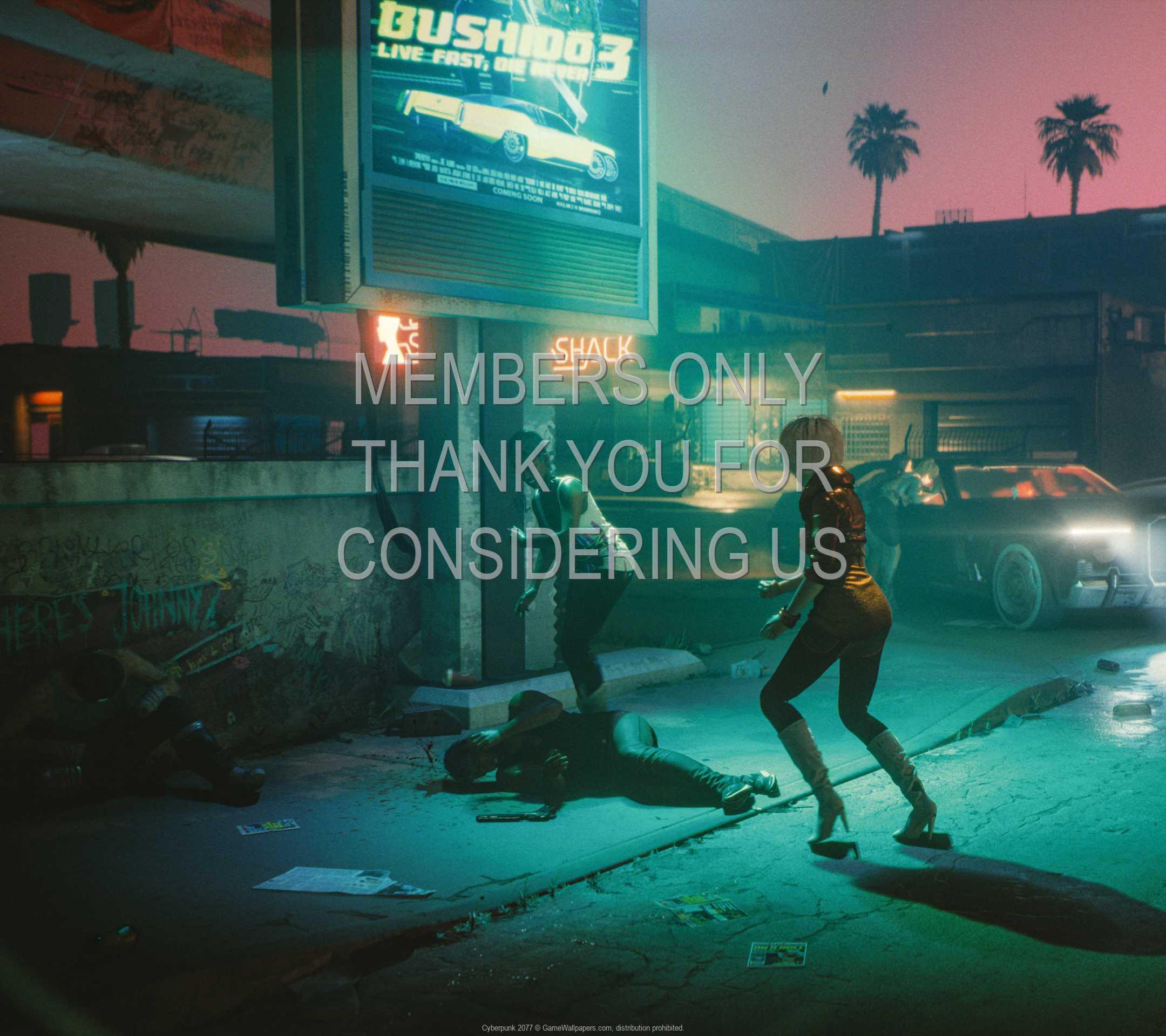 Cyberpunk 2077 1080p Horizontal Mobiele achtergrond 14