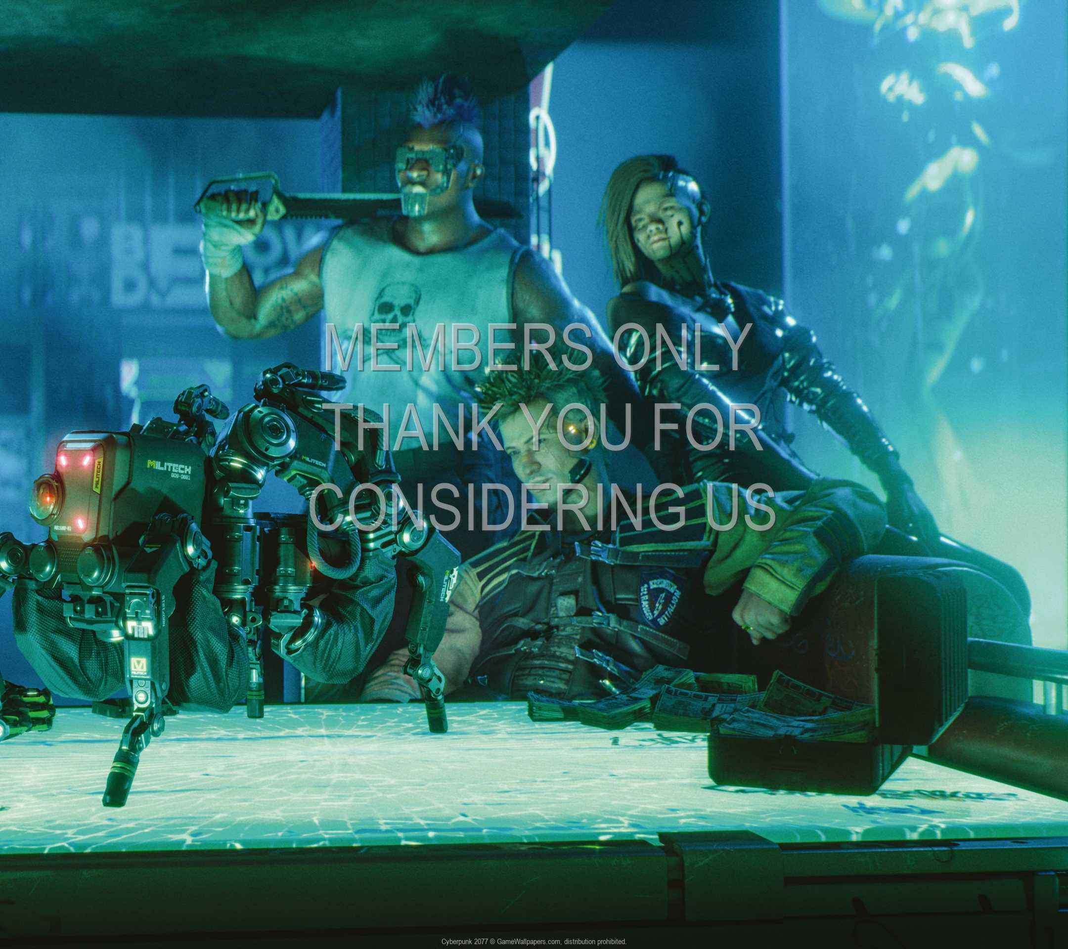 Cyberpunk 2077 1080p Horizontal Mobiele achtergrond 15